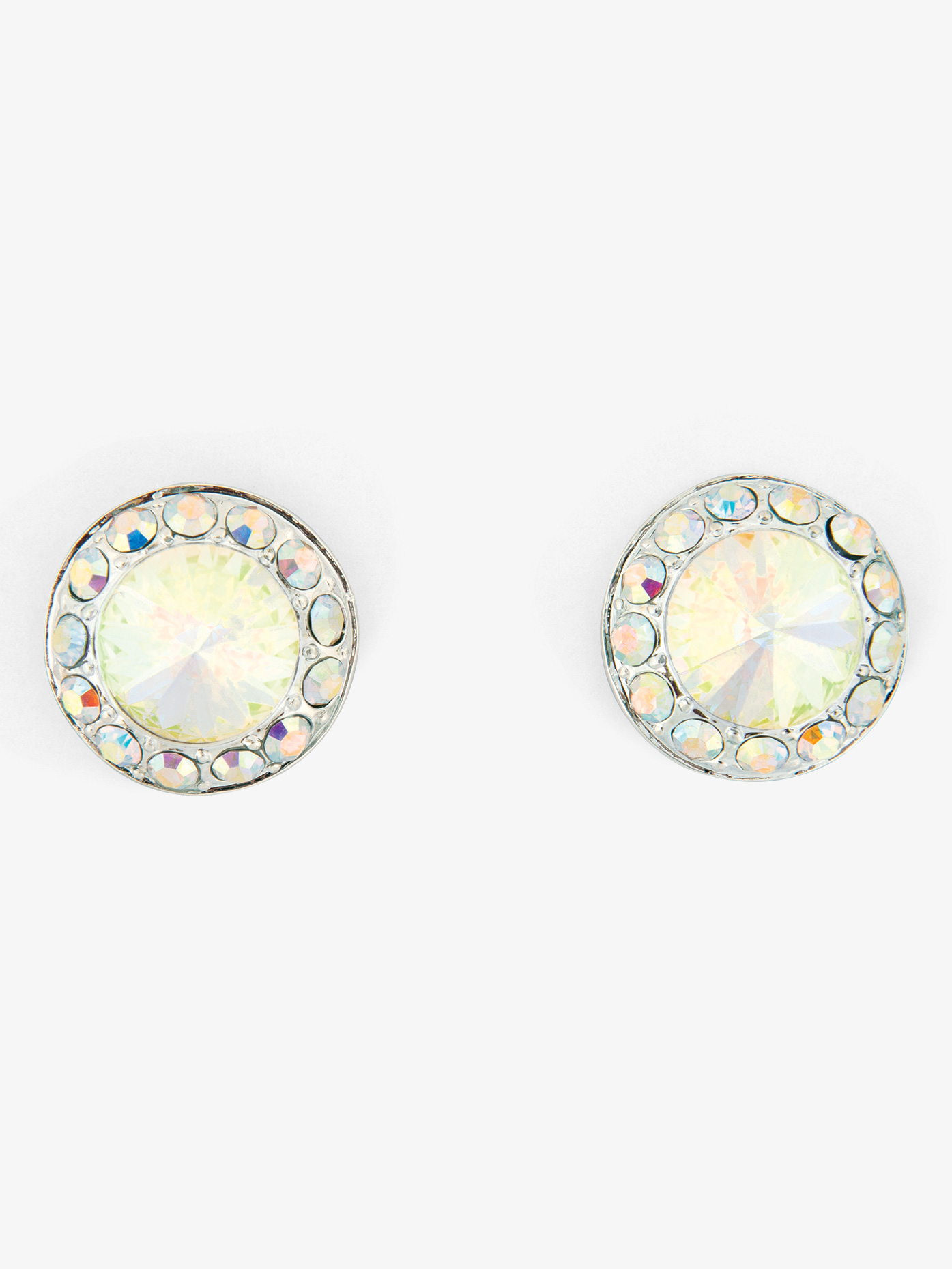 Go Girl Iridescent Stone 18mm Post Earring EP12AI