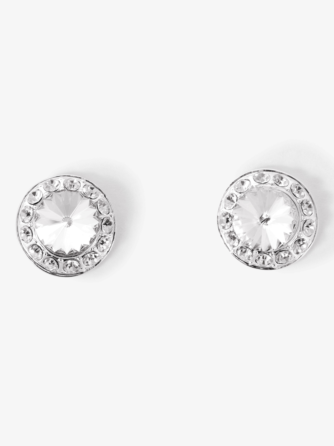 Go Girl 18mm Clear Stone Post Earring EP12AS