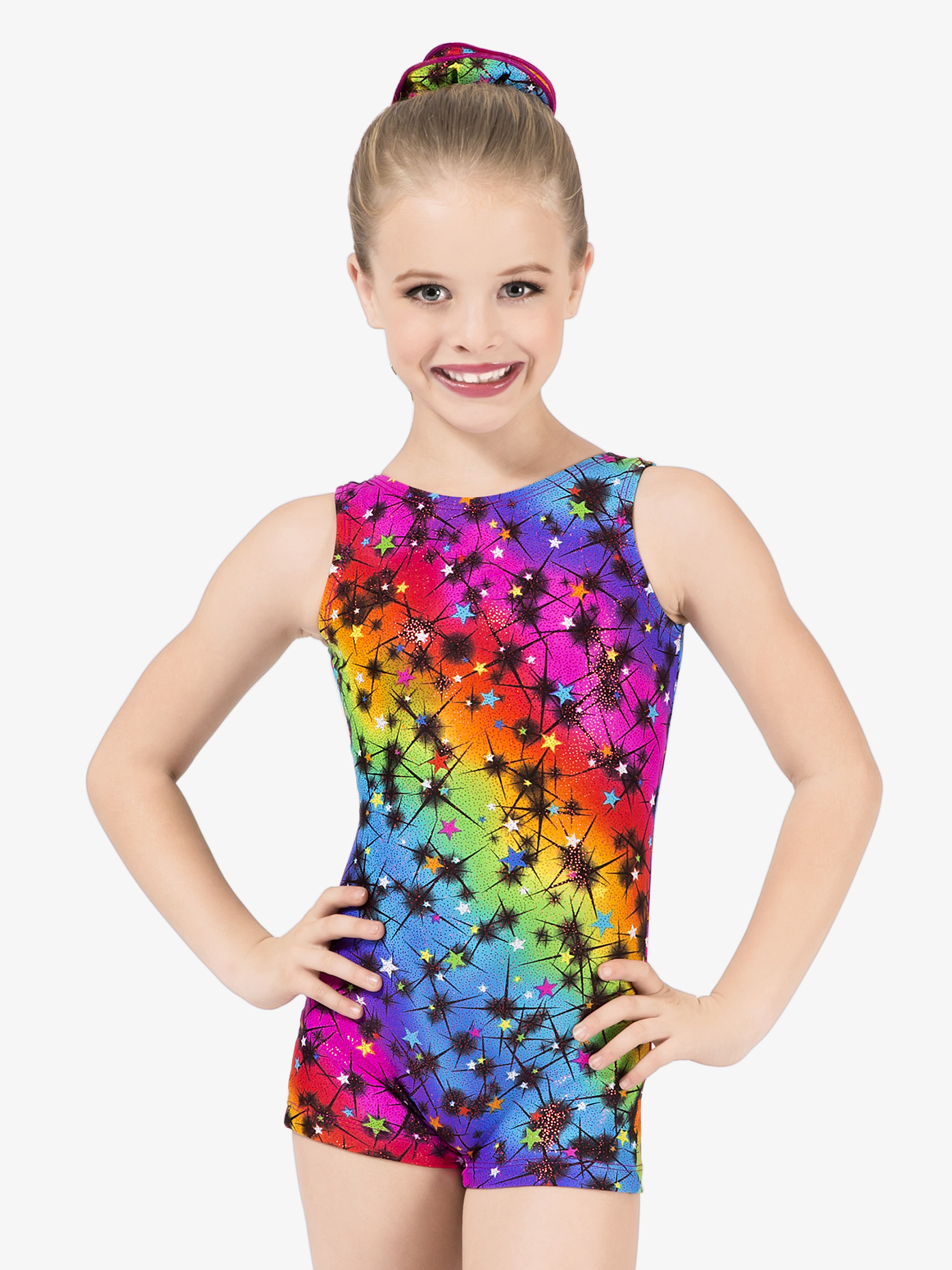 Perfect Balance Child Cosmos Shorty Unitard G552C