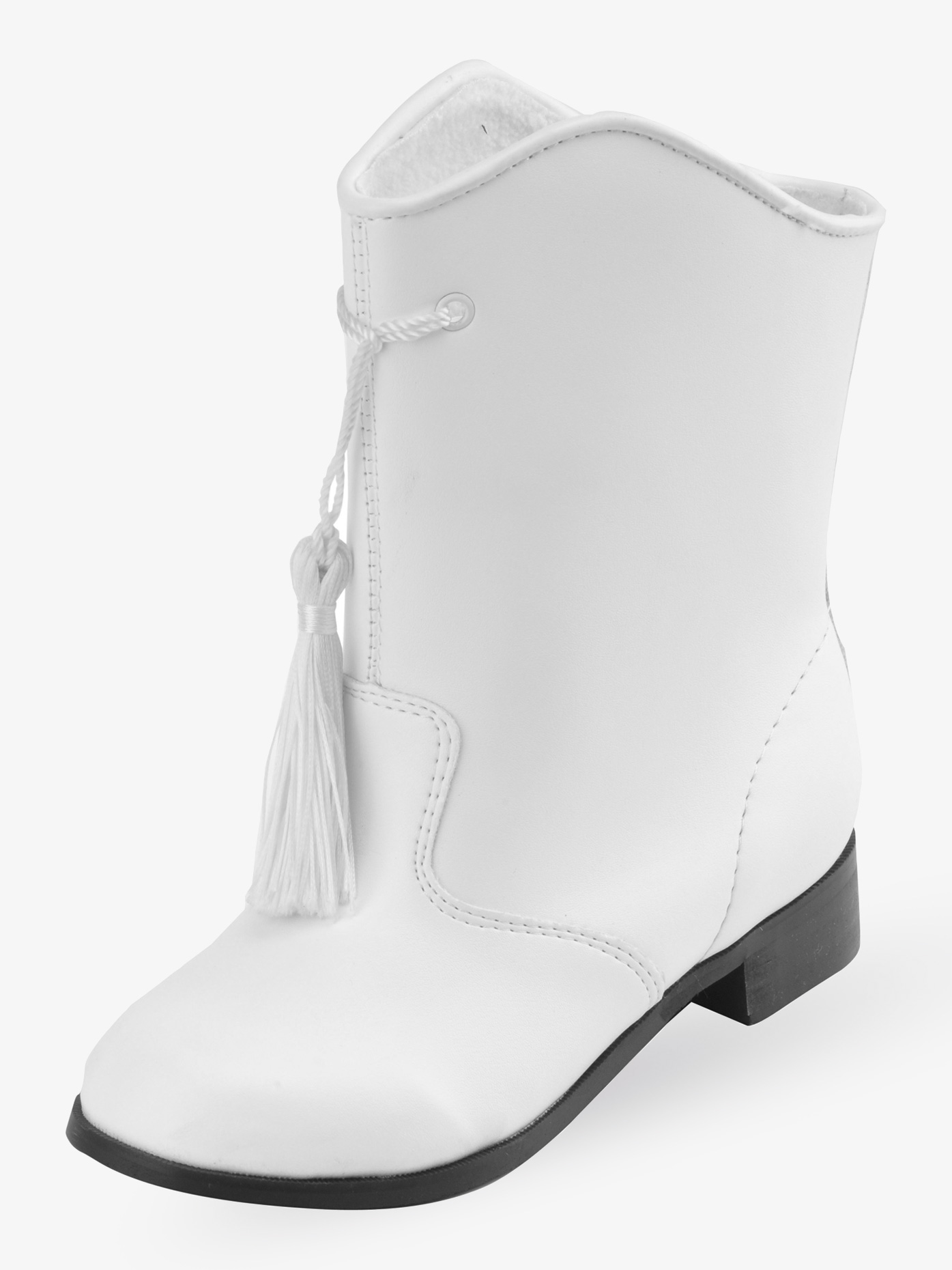 Danshuz Girls Gotham Majorette Boot White G802