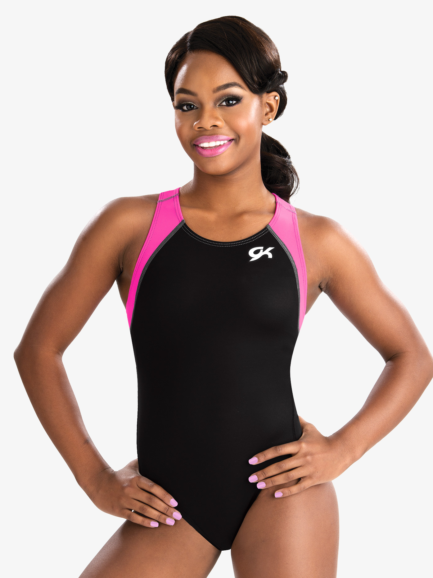E3705 Sapphire Freeze GK Elite Sportswear Gymnastics