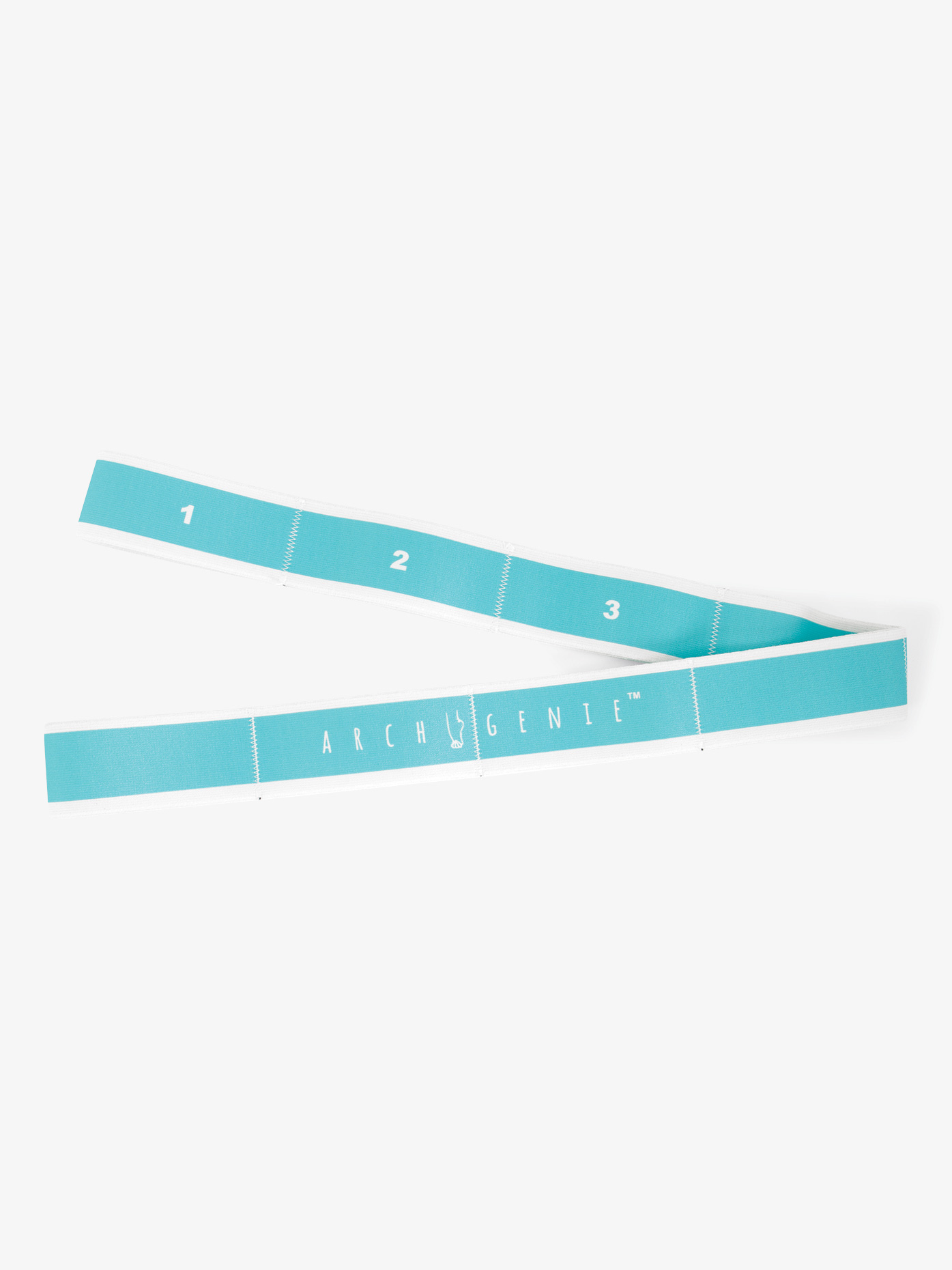 """The """"GenieLastic"""" is compact, light, and portable and helps tone, stretch, and strengthen all of your main muscles. 32.5 inches in length."""