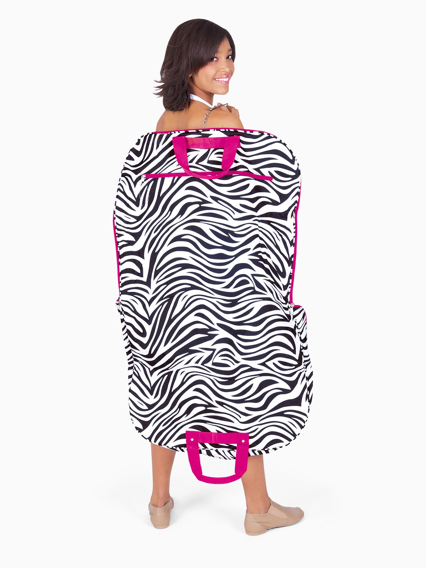 Discount Dance Supply Zebra Print Garment Bag GM40