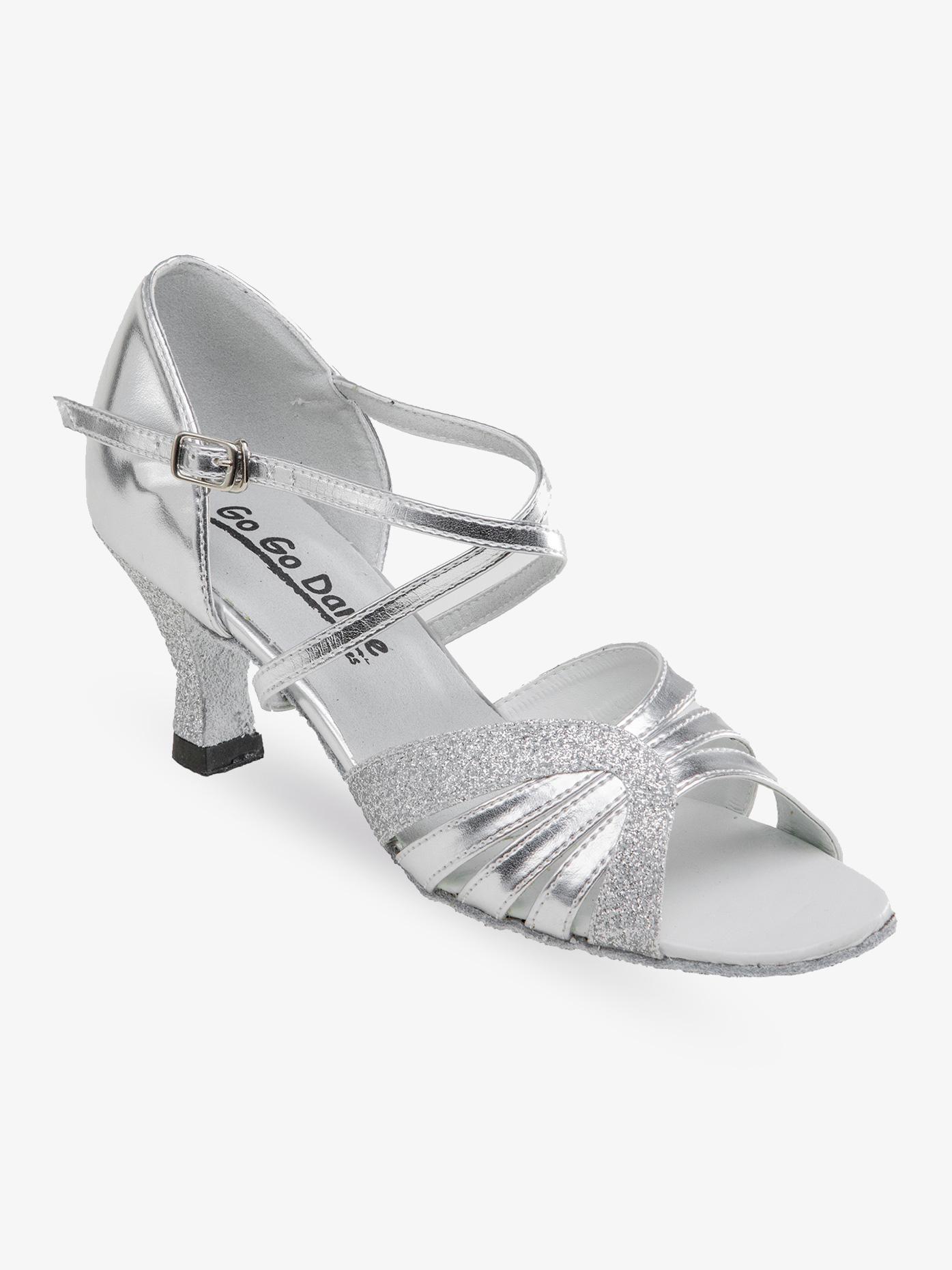Go Go Ladies Latin/Rhythm Ballroom Shoe w/2.5 Inch Heels GO979