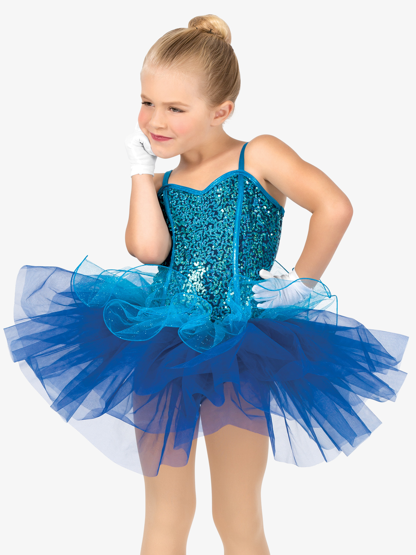 Gracie Girls Mock Corset Camisole Costume Tutu Dress GRA102