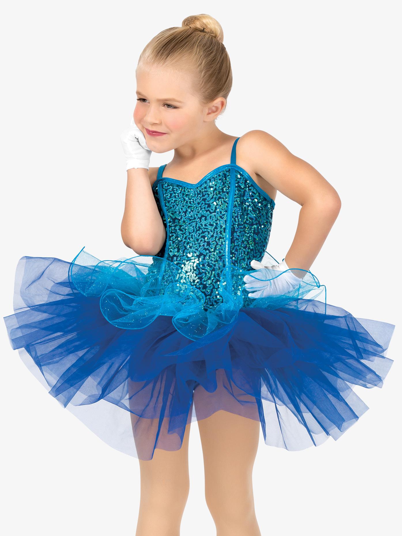 Gracie Girls Mock Corset Camisole Costume Tutu Dress GRA102