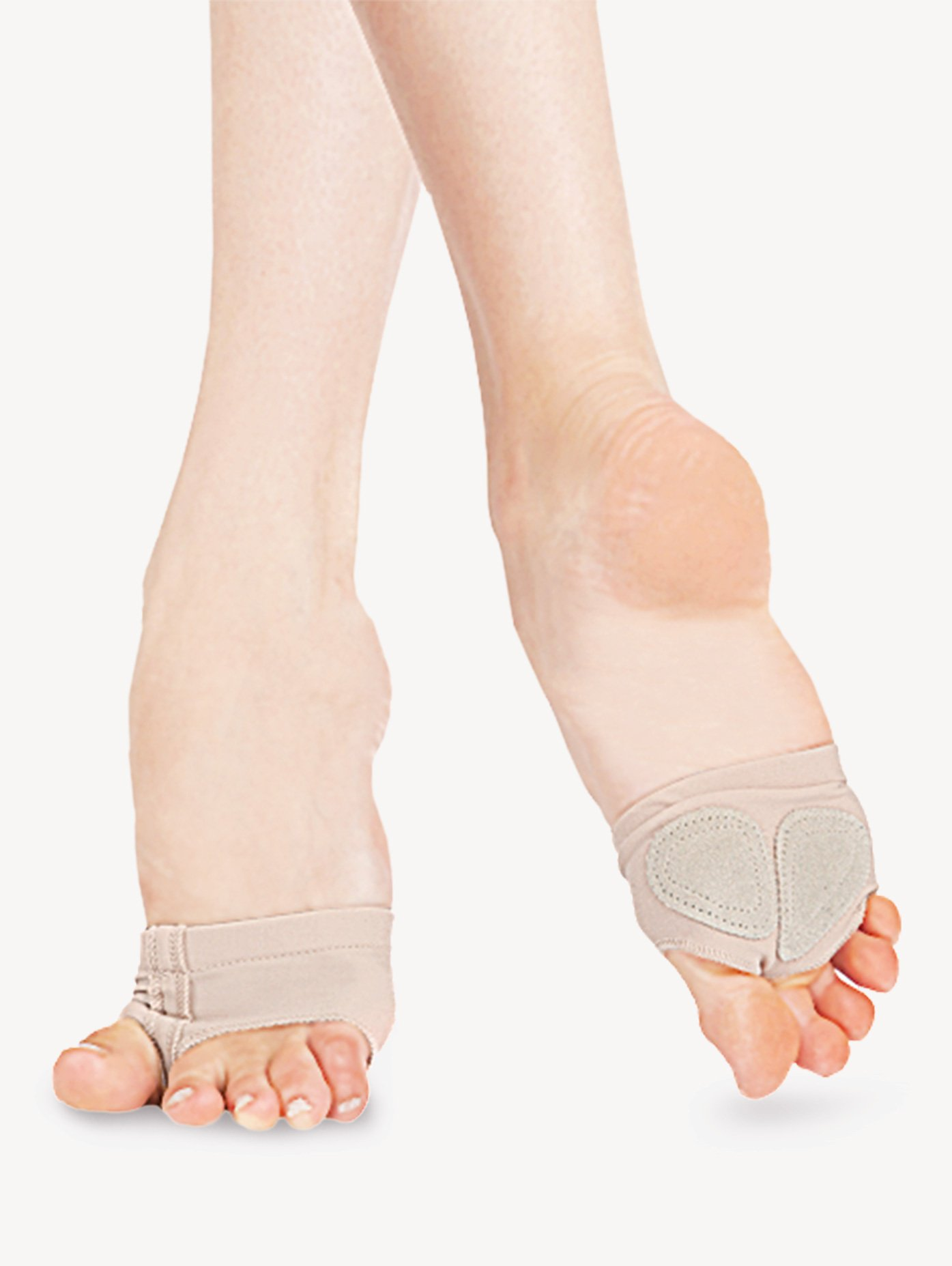 Capezio Adult Jelz Footundeez Lyrical Half Sole H07G