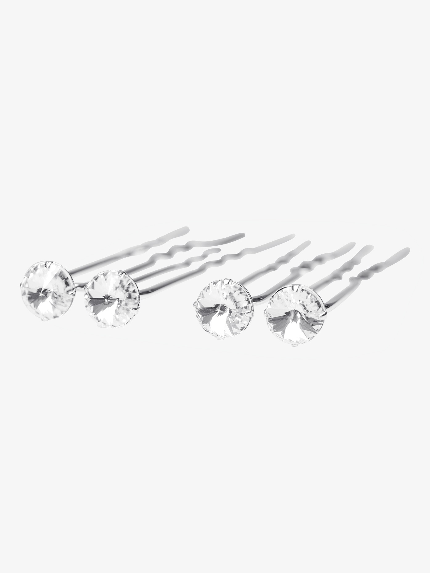 Go Girl Rhinestone Hair Pins HPS8S