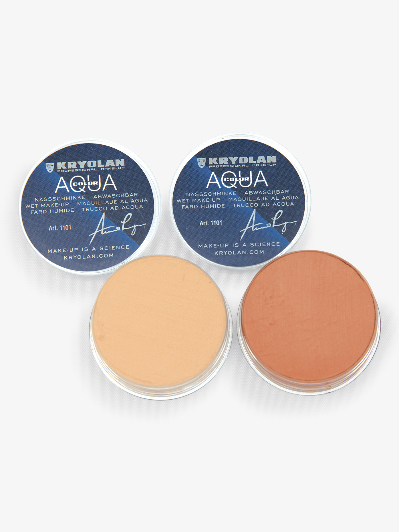 Kryolan Aquacolor Body and Shoe Makeup K1101