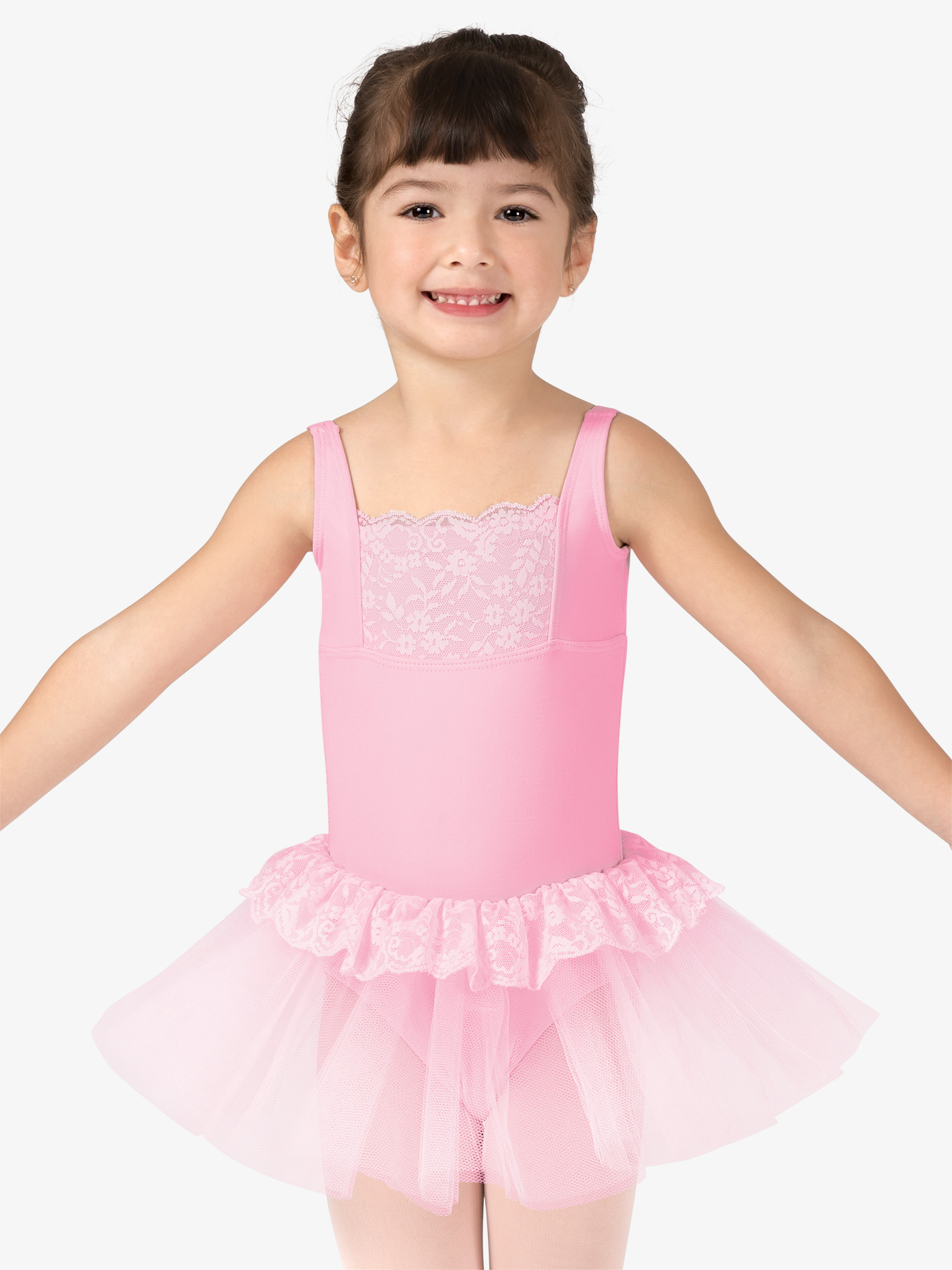 df3d307d7e So Danca Girls Lace Back Tank Ballet Tutu Dress L1249