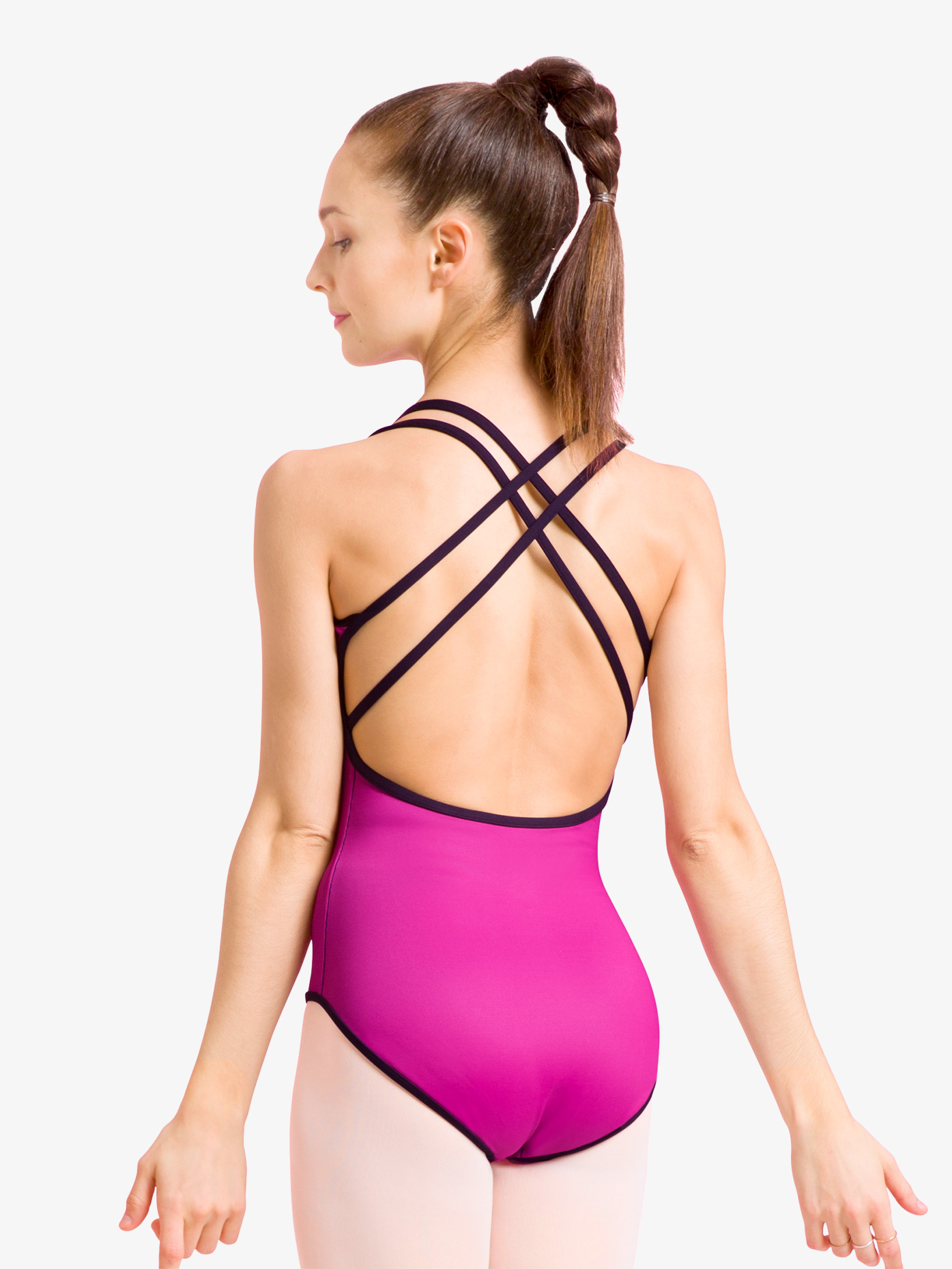 Bloch Womens Reversible X-Back Camisole Leotard L1847