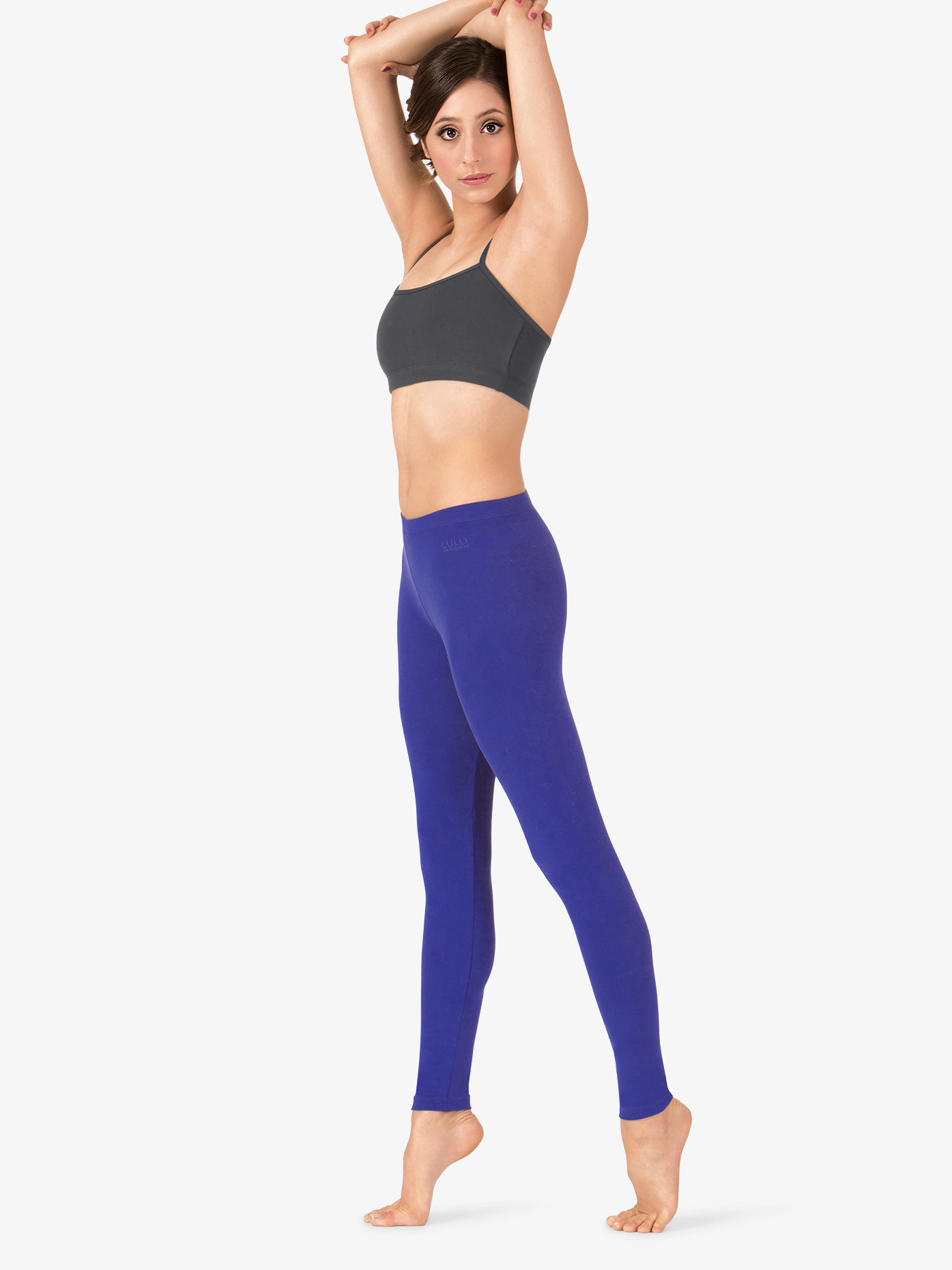 Lulli Adult Brushed Cotton Ankle Dance Leggings LUB233