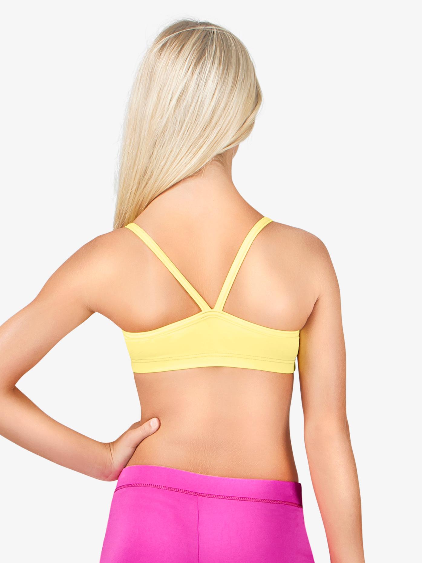 Motionwear Girls V-Back Camisole Bra Top M3087C