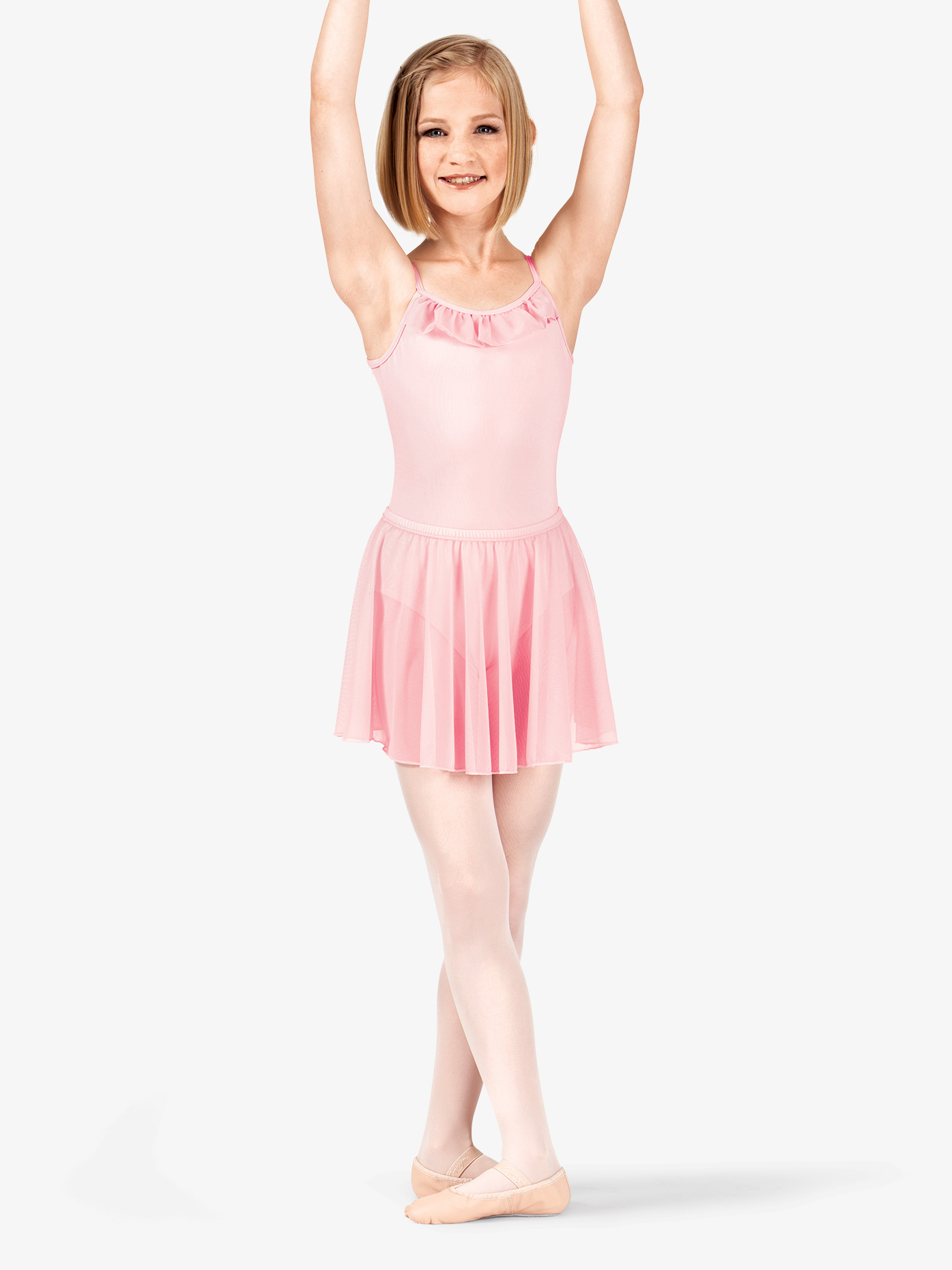BalTogs Girls Pull-On Mesh Skirt M777C