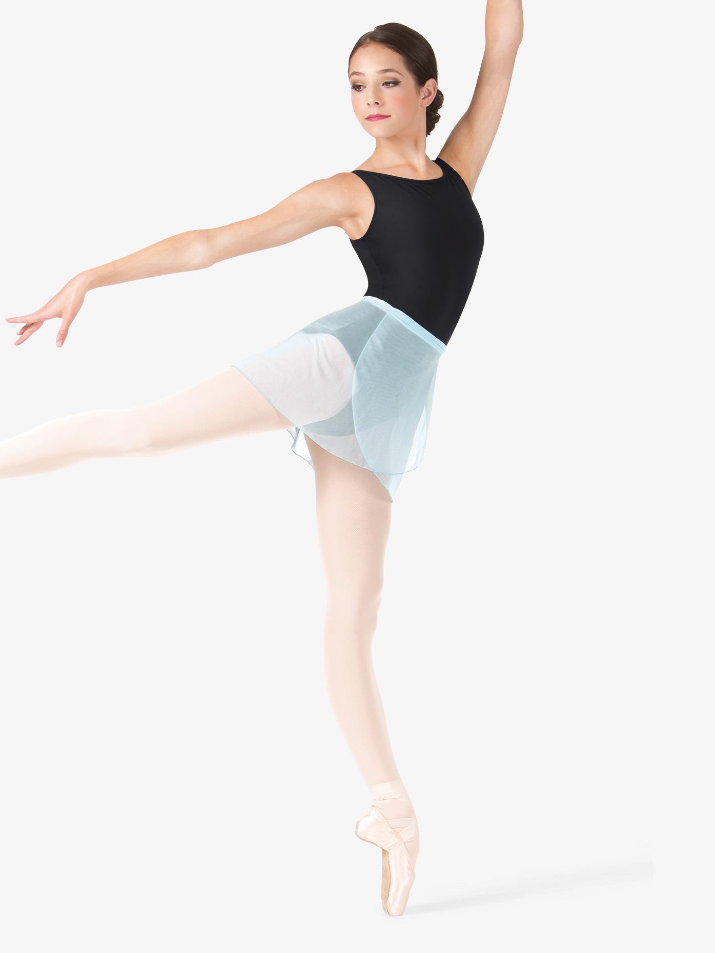 Mariia Nikita Mesh Dance Wrap Skirt ME549