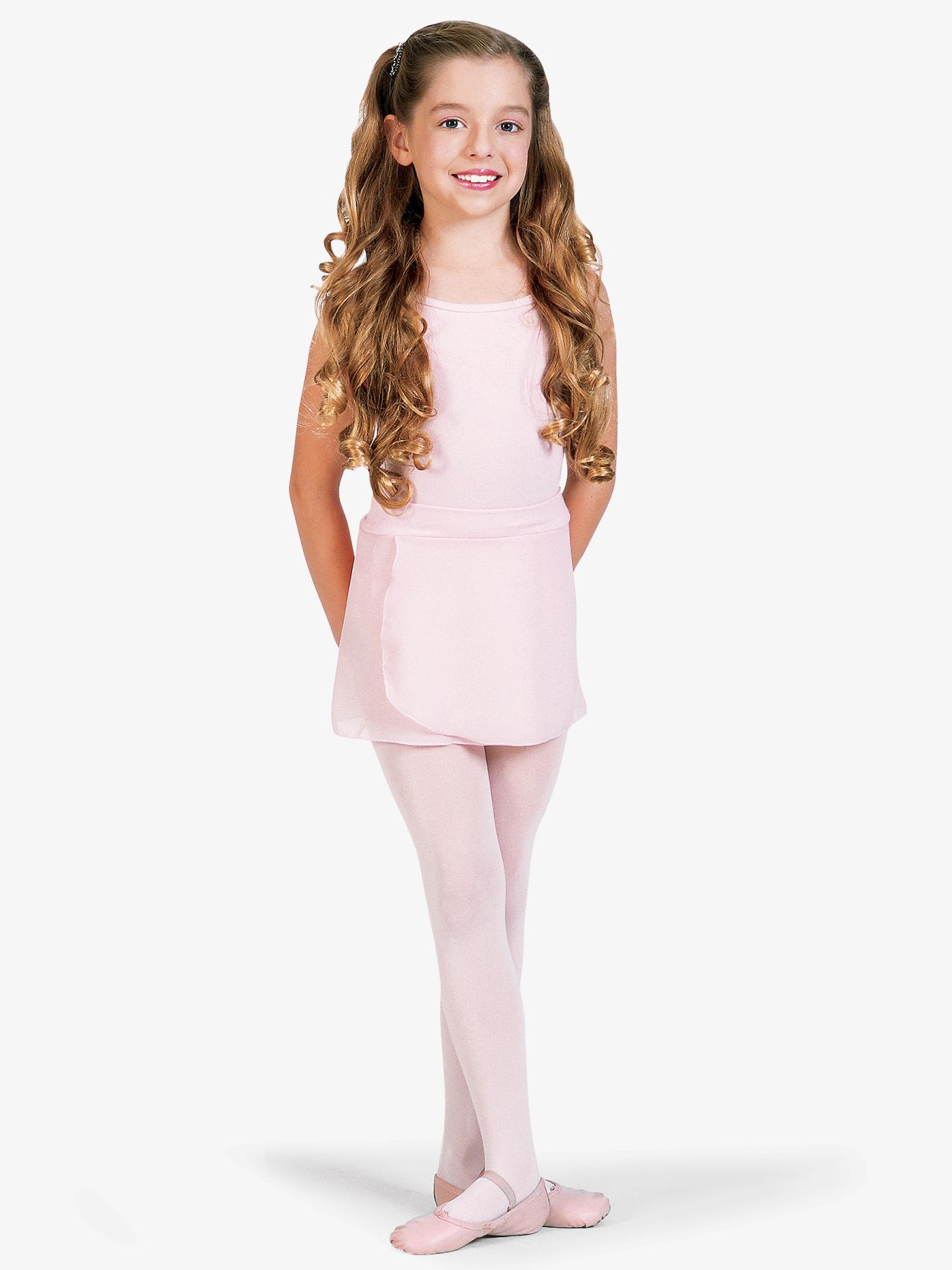 Mirella Child Chiffon Pull-On Skirt MS12CH