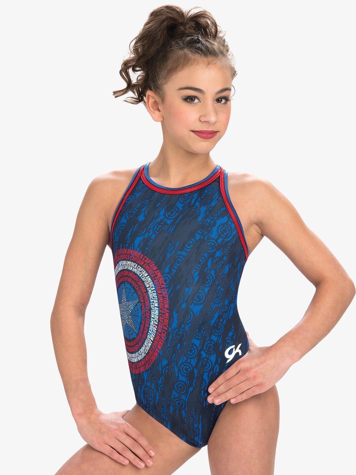 af4983c25 Marvel American Shield Leotard - Gymnastics