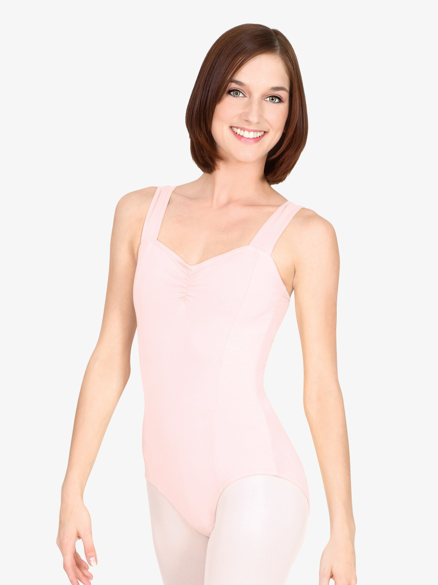 Theatricals Adult Pinch Front Tank Cotton Dance Leotard N5501