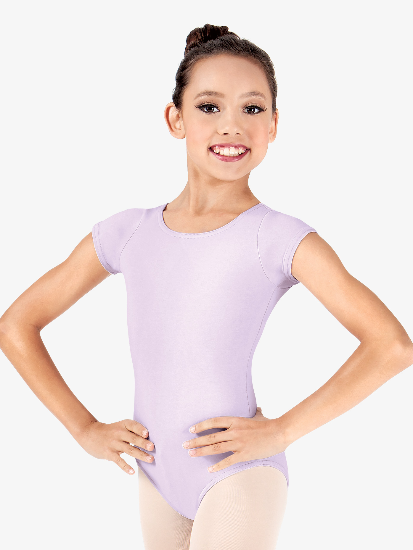 Theatricals Girls Short Sleeve Dance Leotard N5502C