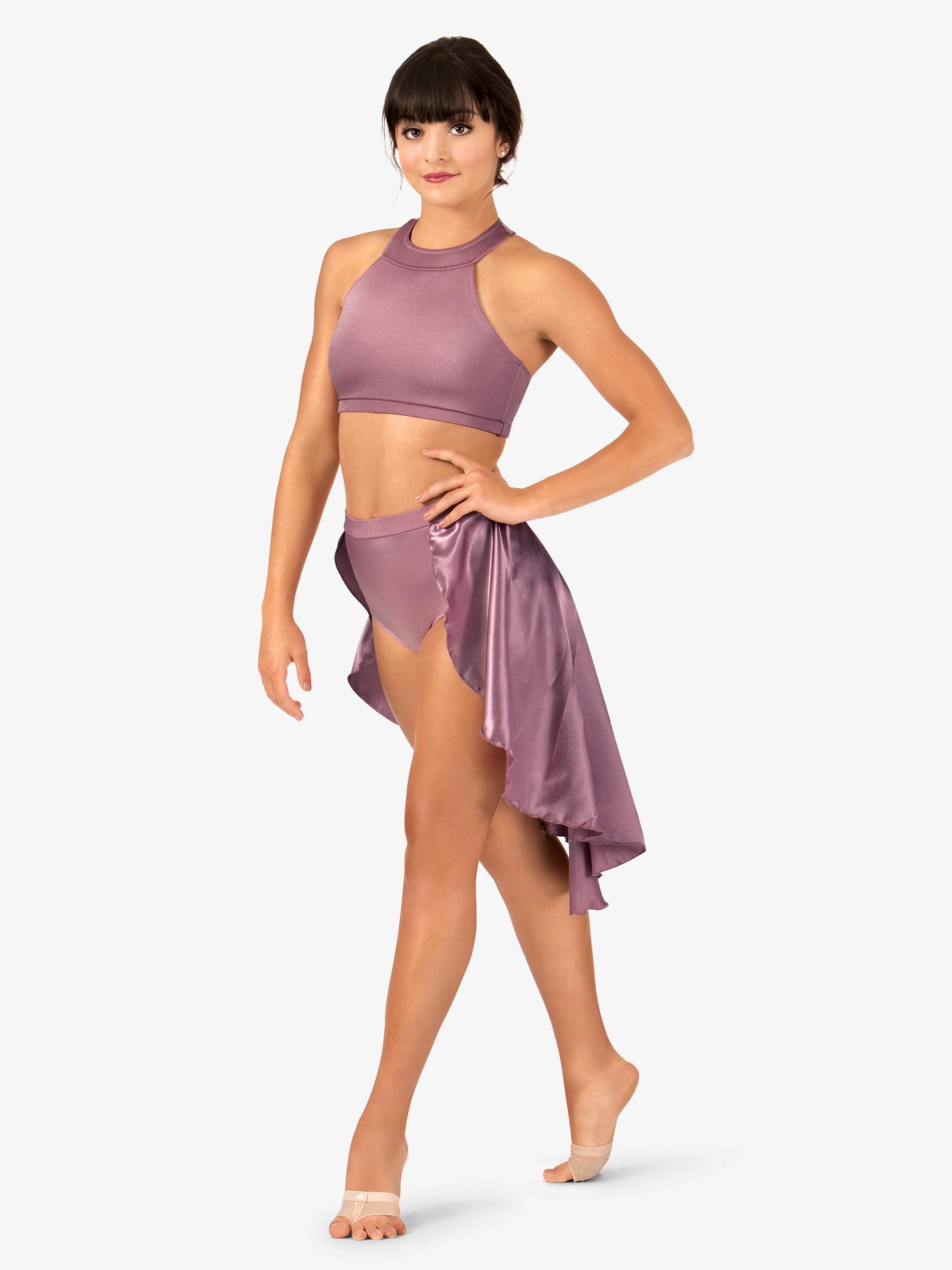 Double Platinum Adult Satin Bustle Skirt N7327