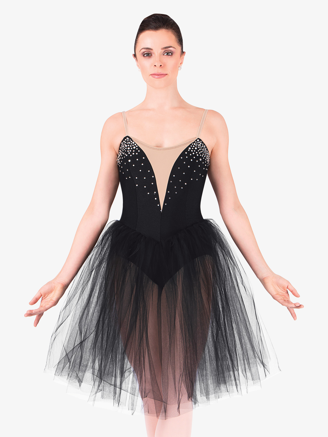 Natalie Adult Classical Tutu Dress With Nude Insert N8438