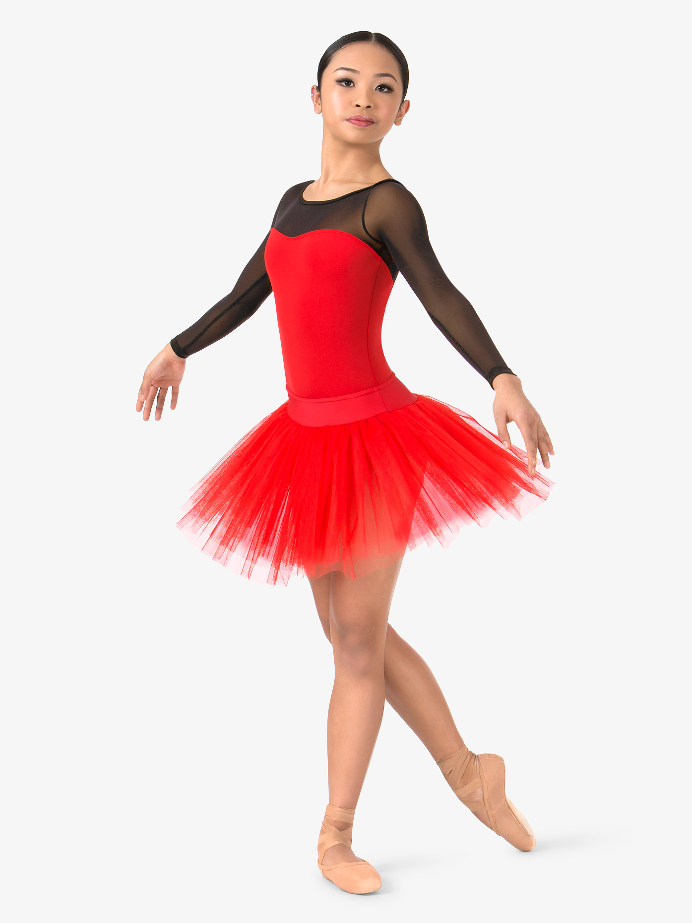 Natalie Womens 4-Layer Ballet Tutu Skirt N9010