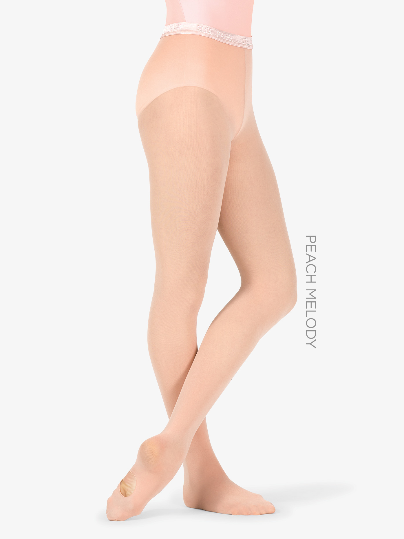Nude Barre Womens Convertible Dance Tights NB001