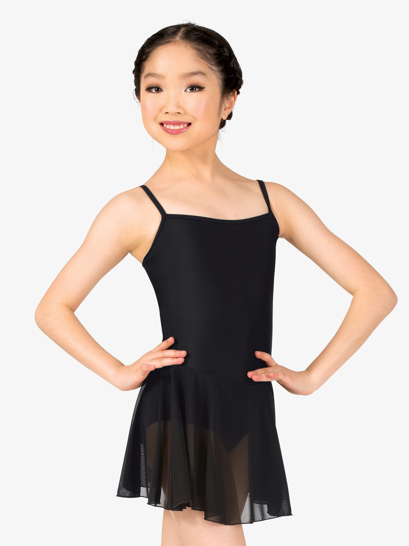 Natalie Girls Short Camisole Ballet Dress P204C