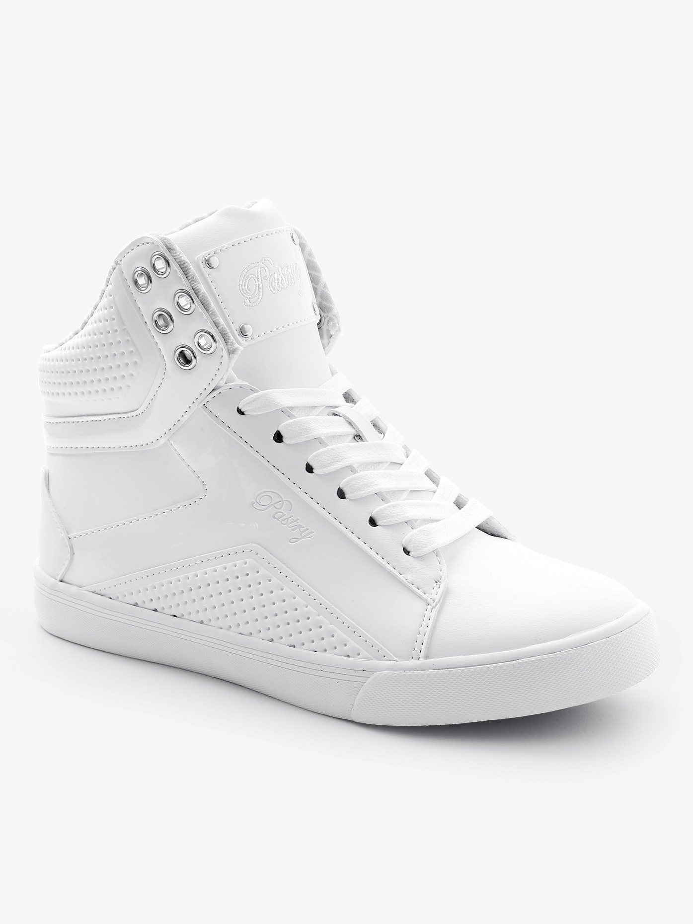 Pastry Adult Pop Tart Grid High Top Sneakers PA153102