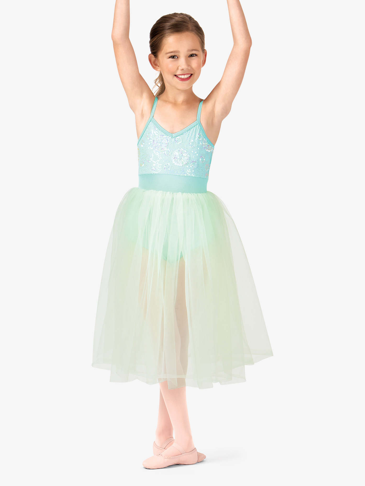 fd536ea7aa64 Romantic Sequin Camisole Tutu Costume Dress - Ballet Lyrical