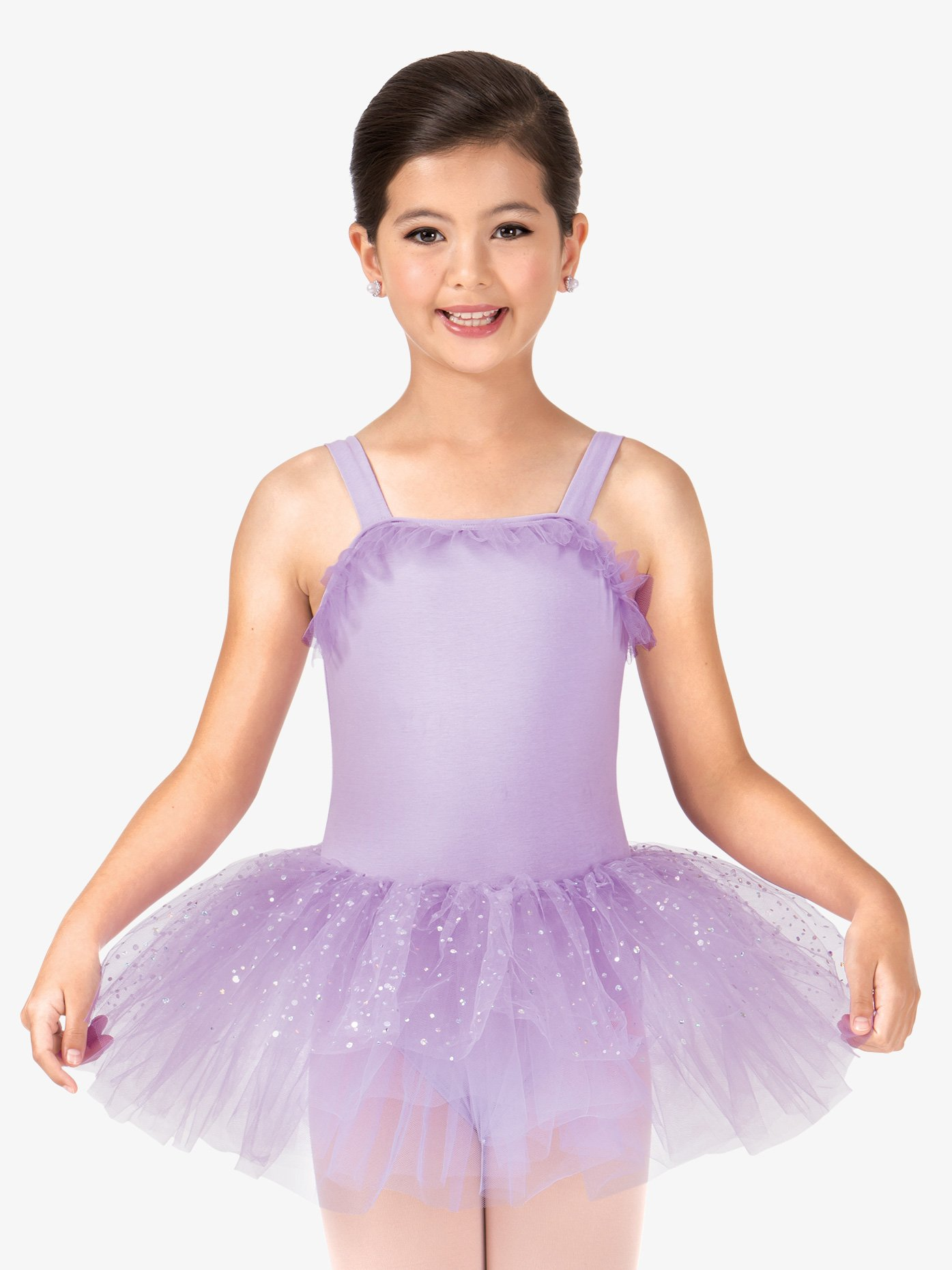 La Petite Ballerina Child Sparkle Dot Tank Tutu Dress PB2020C