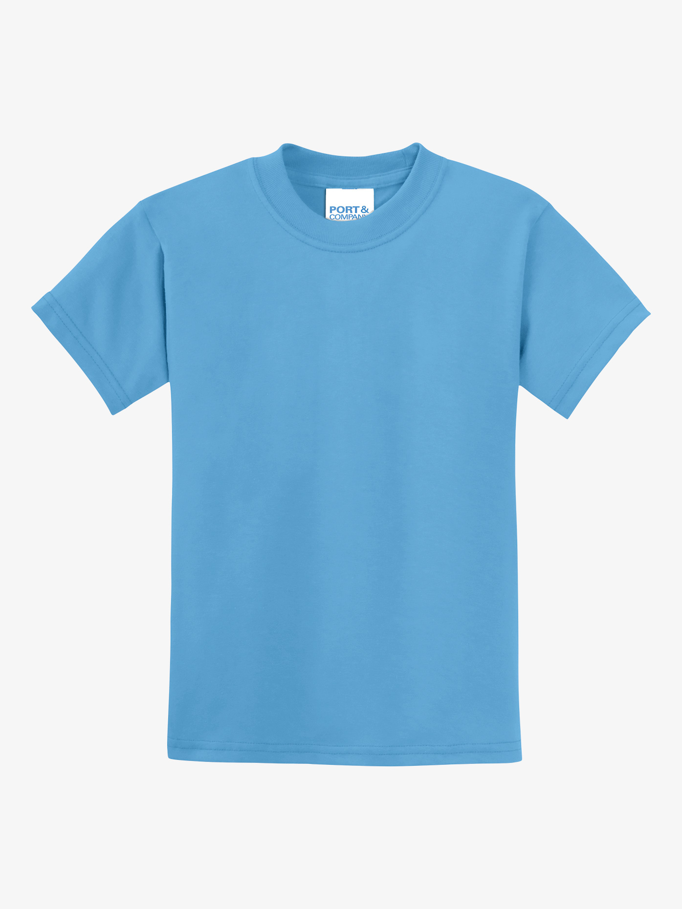 B-YOU Child 50/50 Cotton/Poly T-Shirt PC55Y