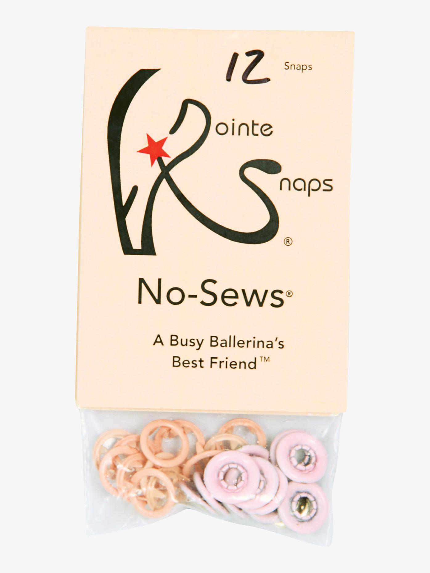 Pointe Snaps No-Sews Pointe Snaps PSNS1012