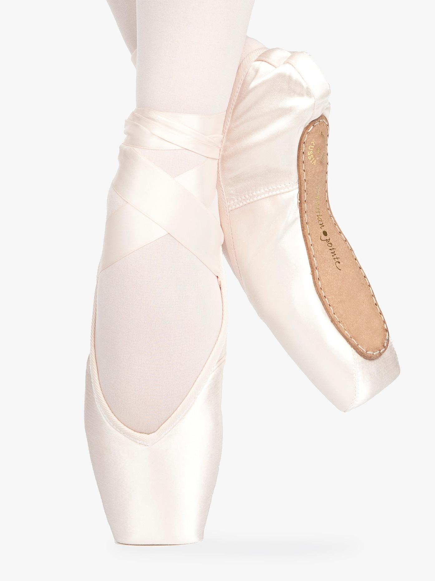 Russian Pointe Adult Rubin V-Cut Pointe Shoes RN