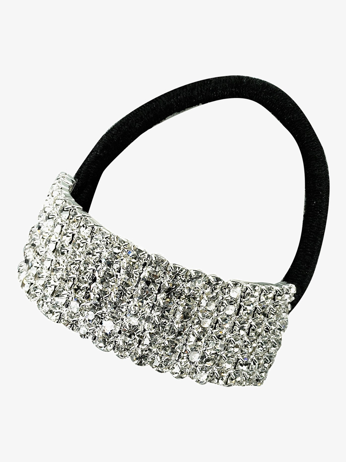 Rhinestones Unlimited Crystal Cuff Ponytail Binders Small RU057