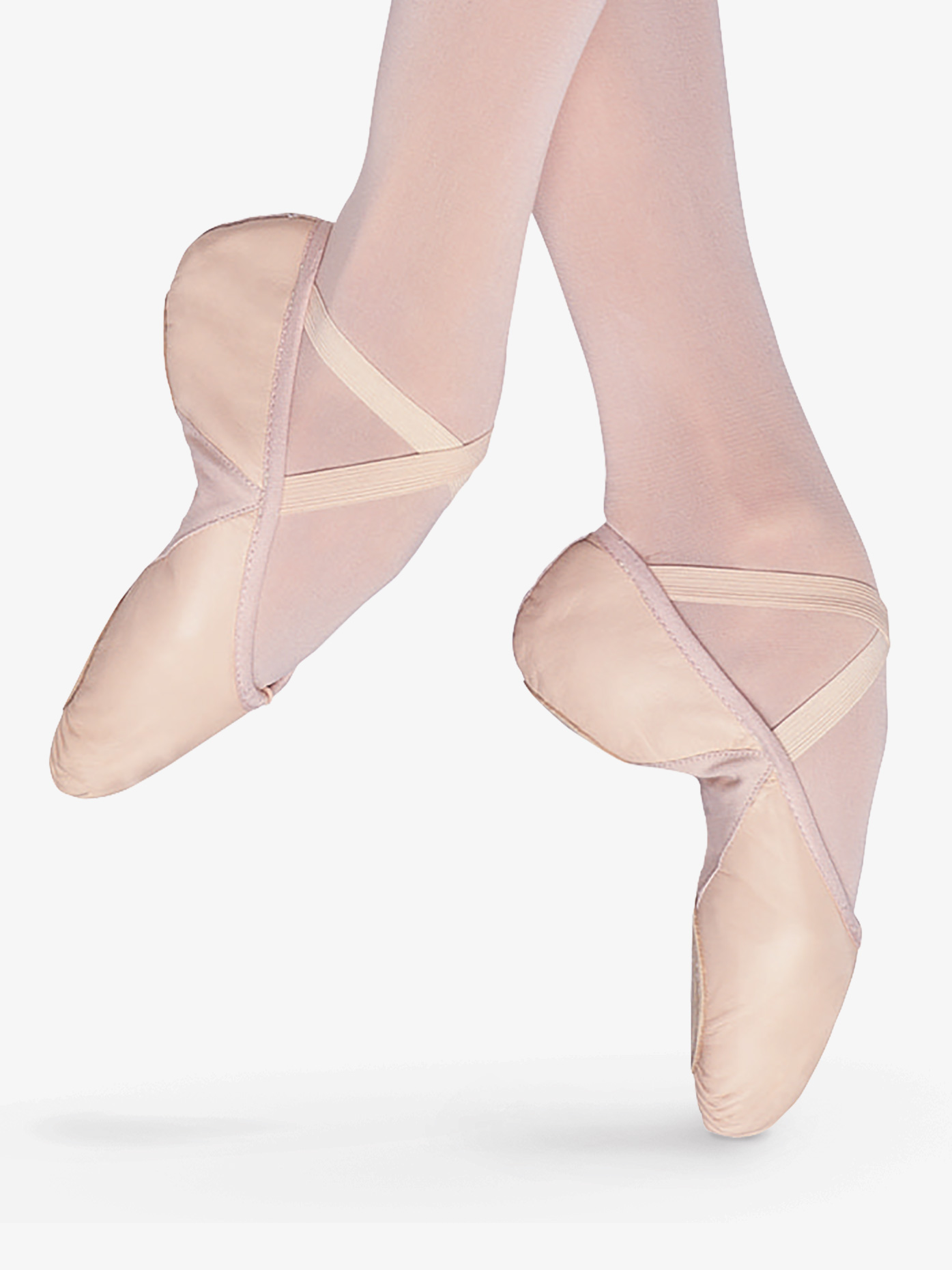 Bloch Child Prolite II Hybrid Leather Split-Sole Ballet Shoes S0203G