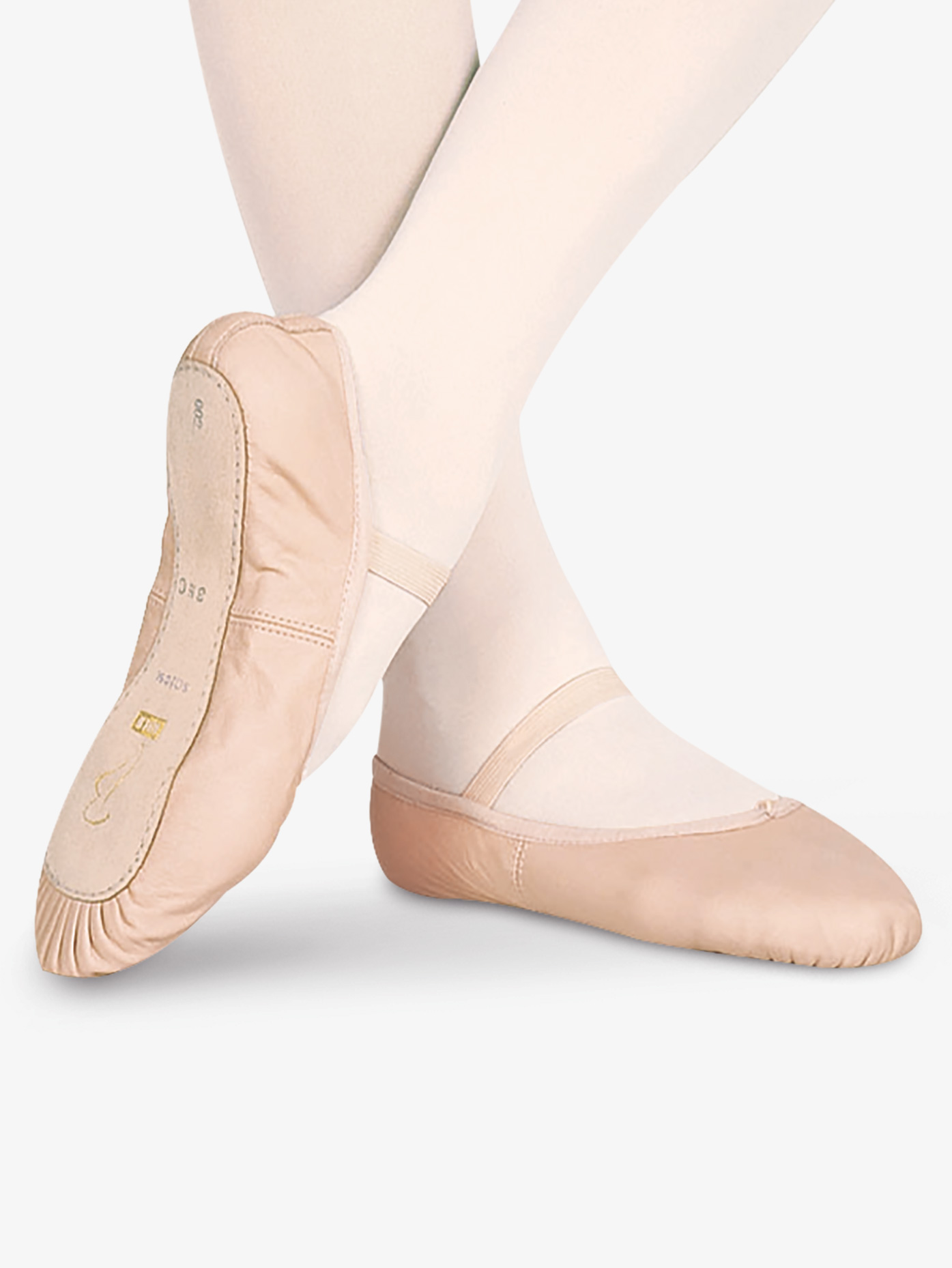 Bloch Child Dansoft Leather Full Sole Ballet Shoes S0205G