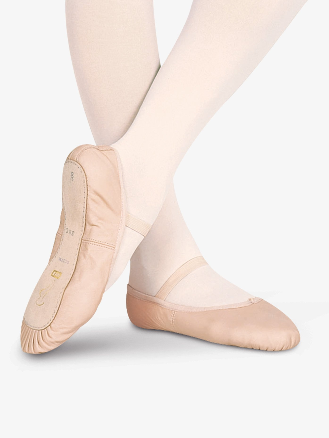 Bloch Toddler Dansoft Leather Full Sole Ballet Shoes S0205T