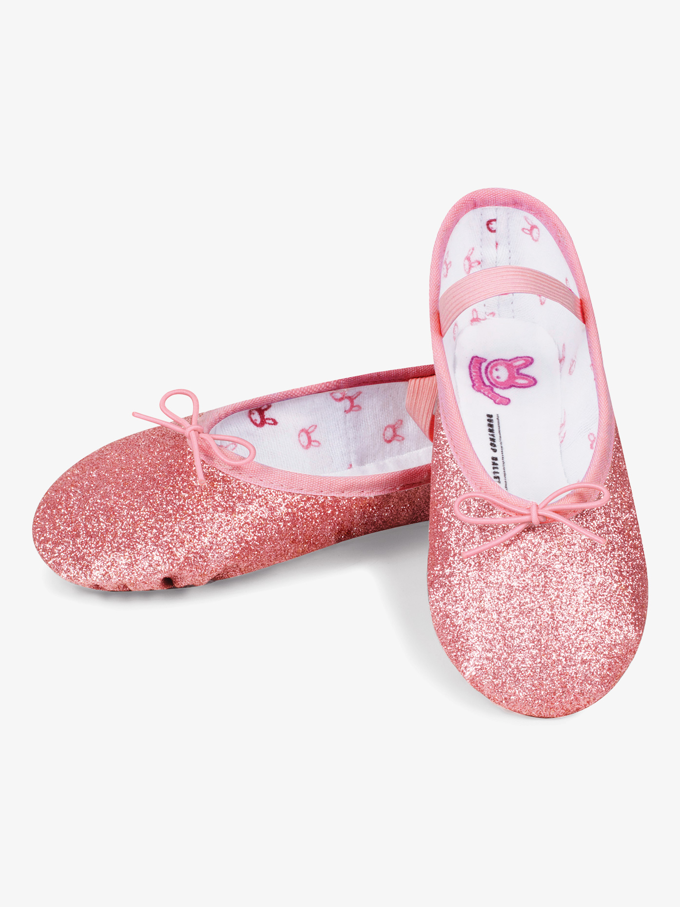 Bloch Girls Glitterdust Full Sole Ballet Shoes S0225GG