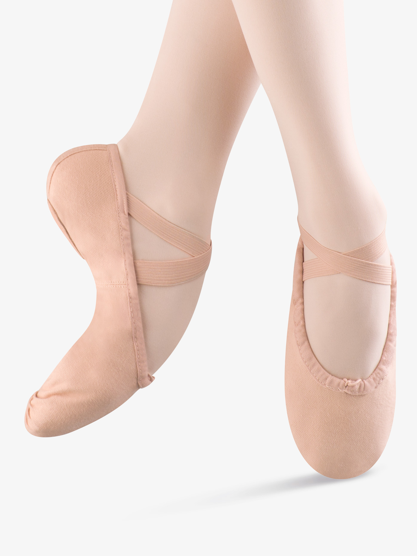 Bloch Child Pump Canvas Split-Sole Ballet Shoes S0277G