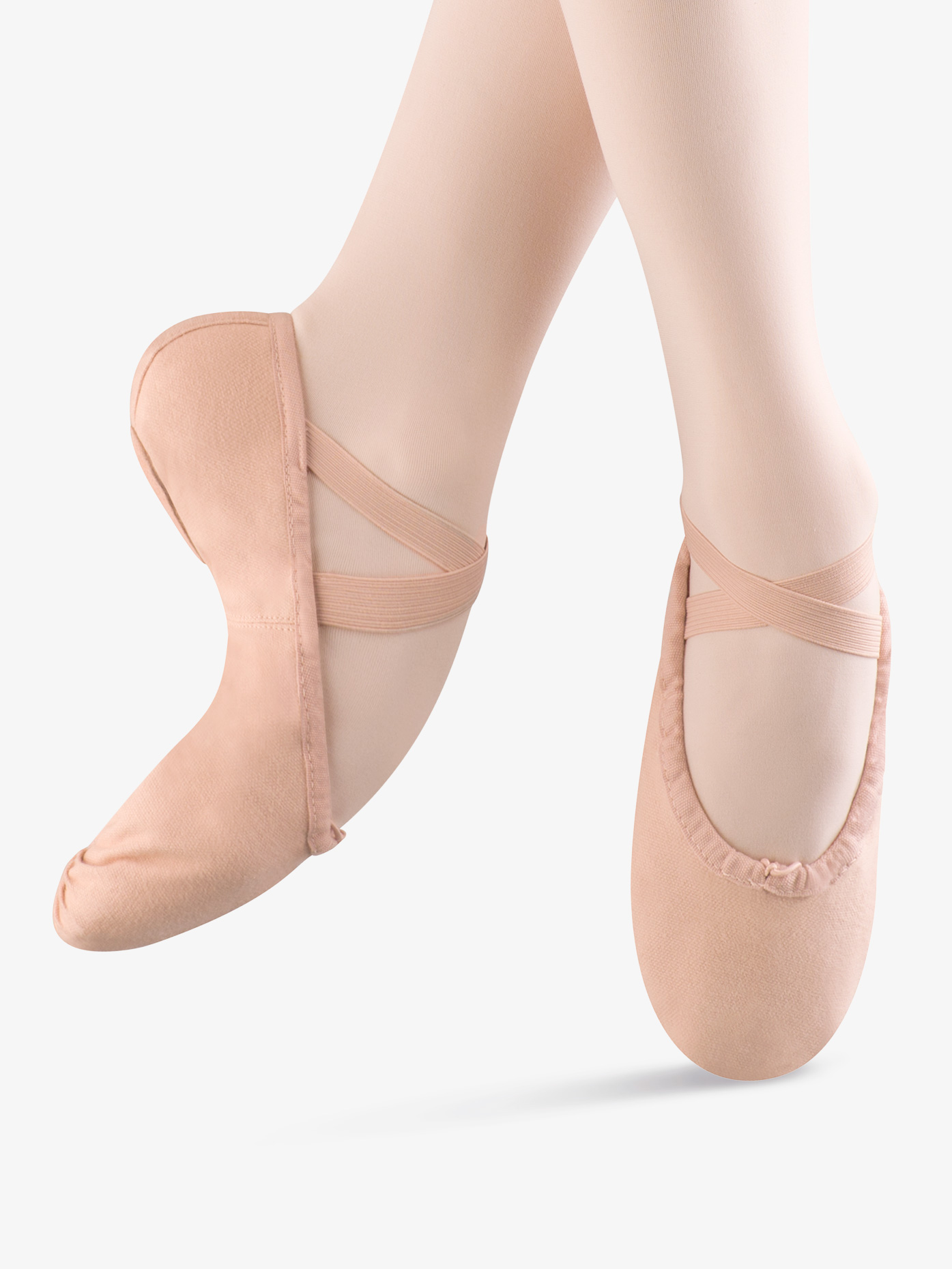 Bloch Womens Pump Canvas Split-Sole Ballet Shoes S0277L
