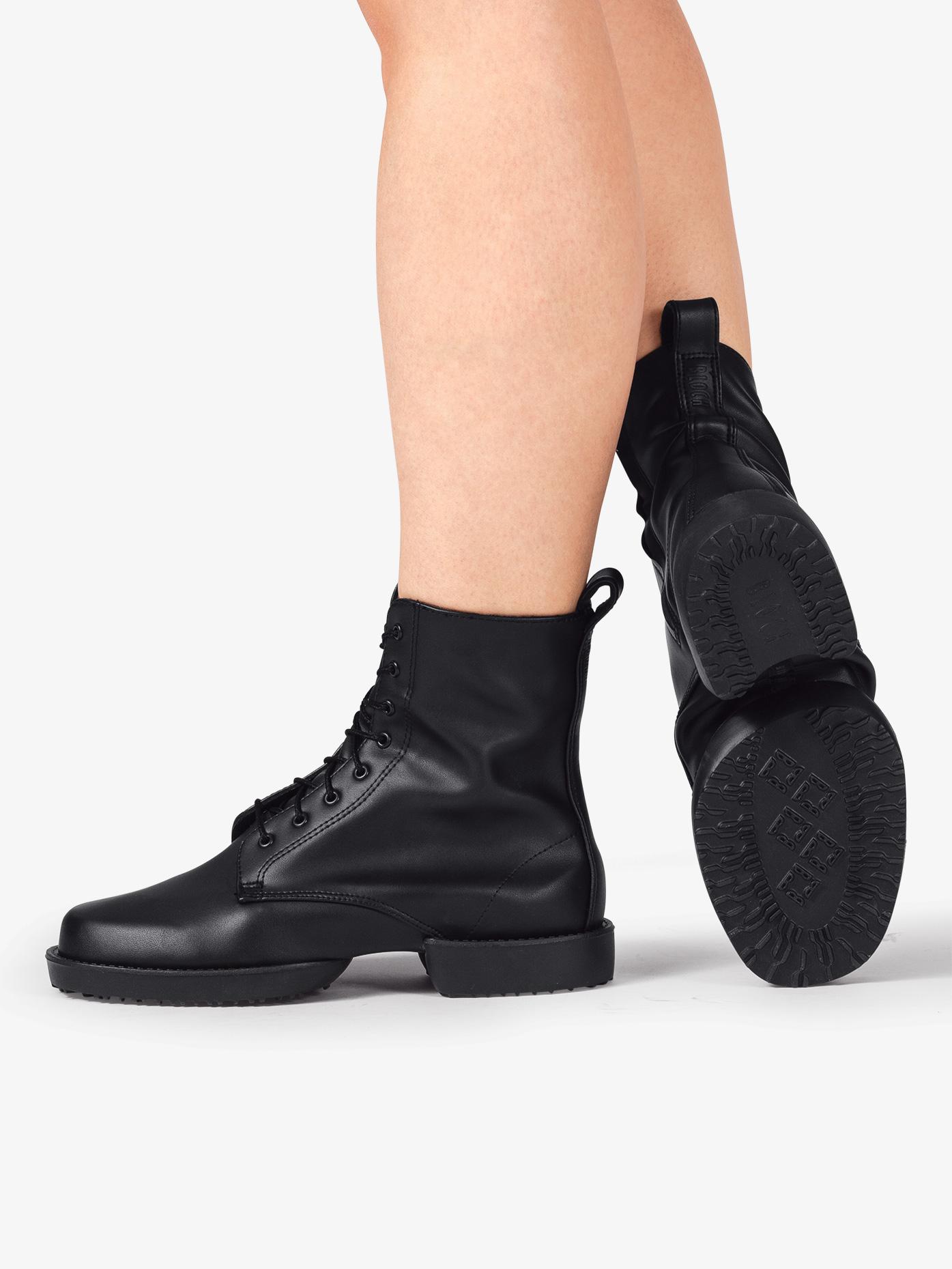 Split Sole Combat Boot Shoes Bloch S0592