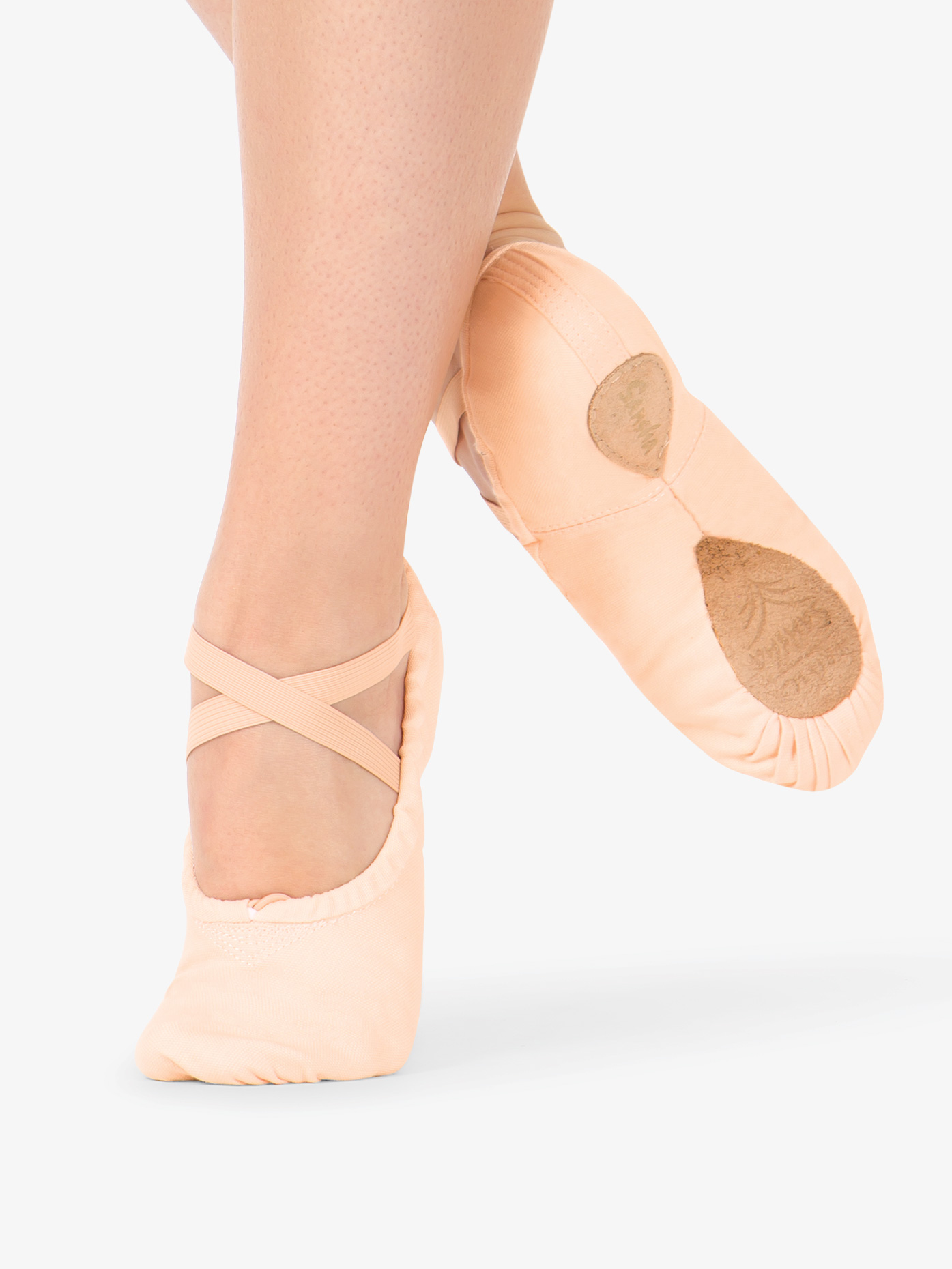 Sansha Adult #1 Pro Canvas Split-Sole Ballet Shoes S1C