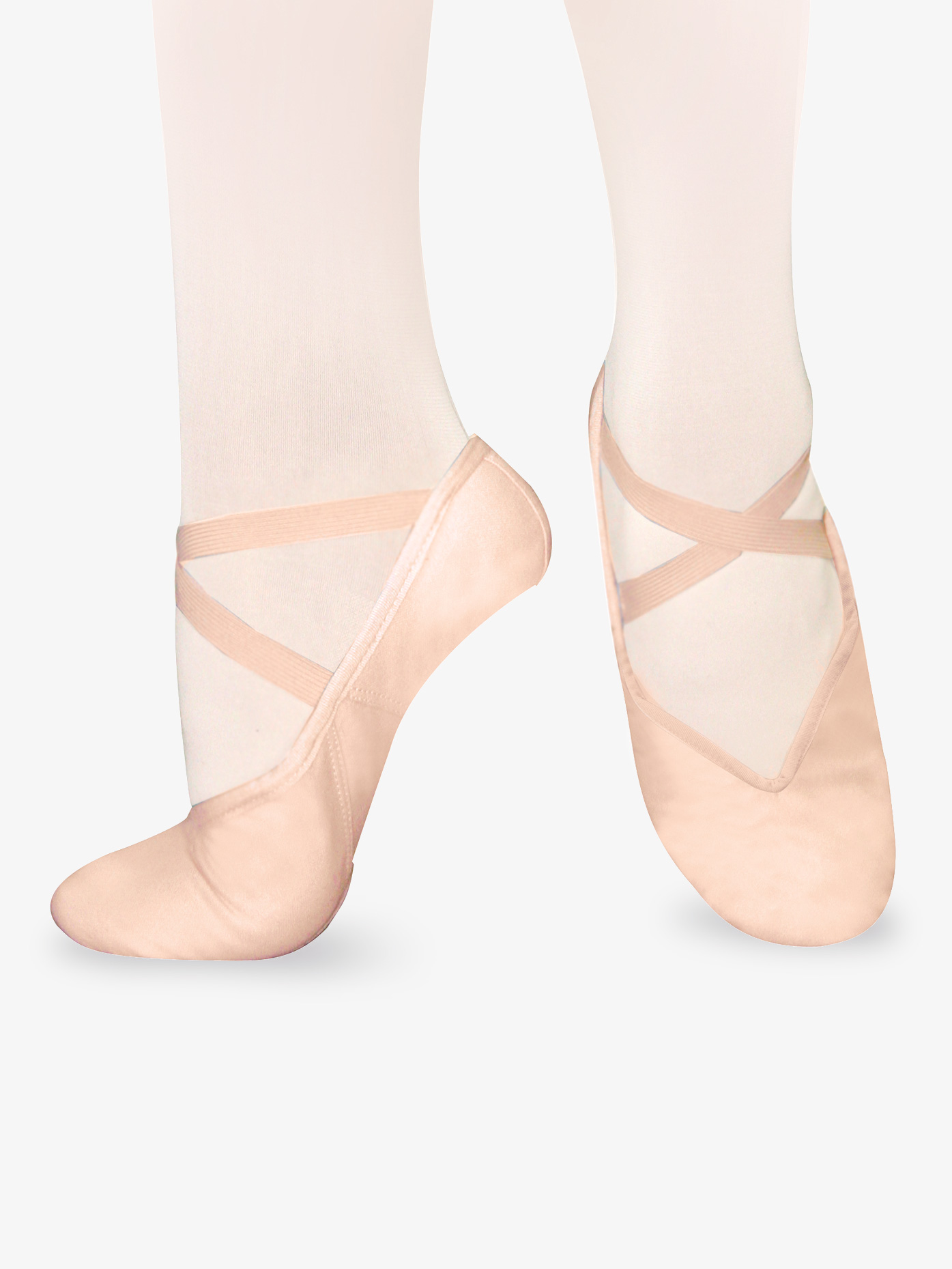 Sansha Adult Tendu Canvas Split-Sole Ballet Shoes S9C