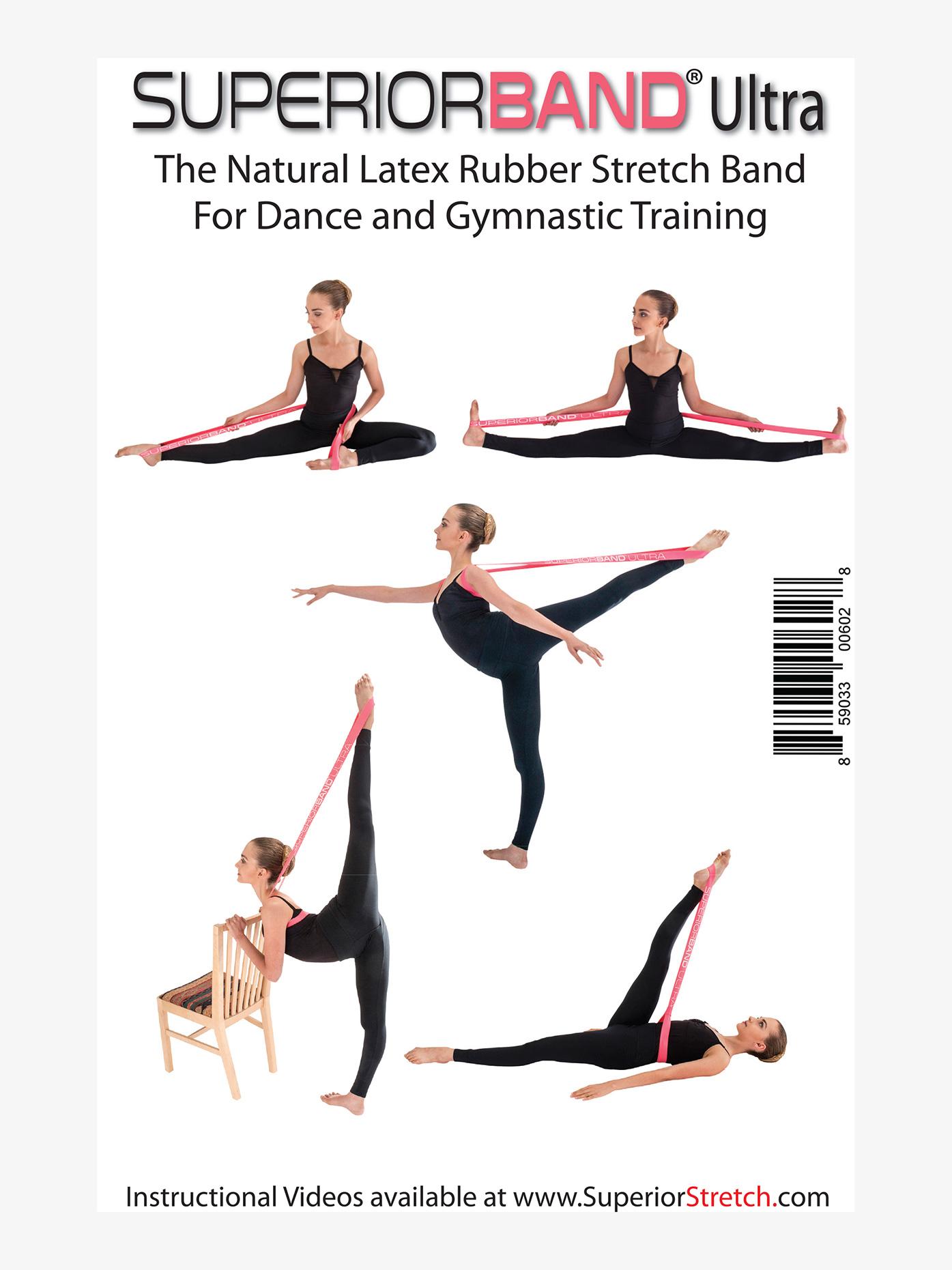 Superior Stretch SuperiorBand Ultra Loop Dance Stretch Band SB1PK