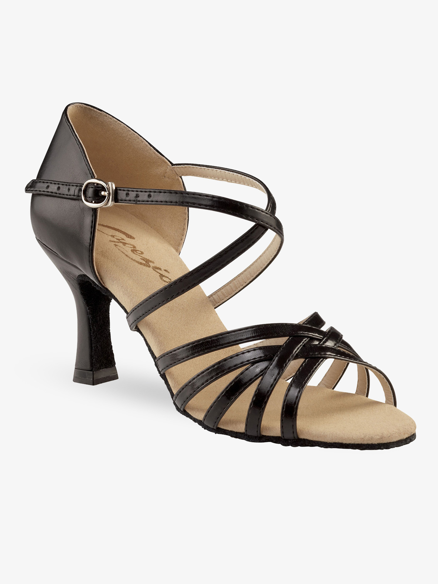 "Capezio Stella 2/"" Heel Ballroom Shoe BR191"