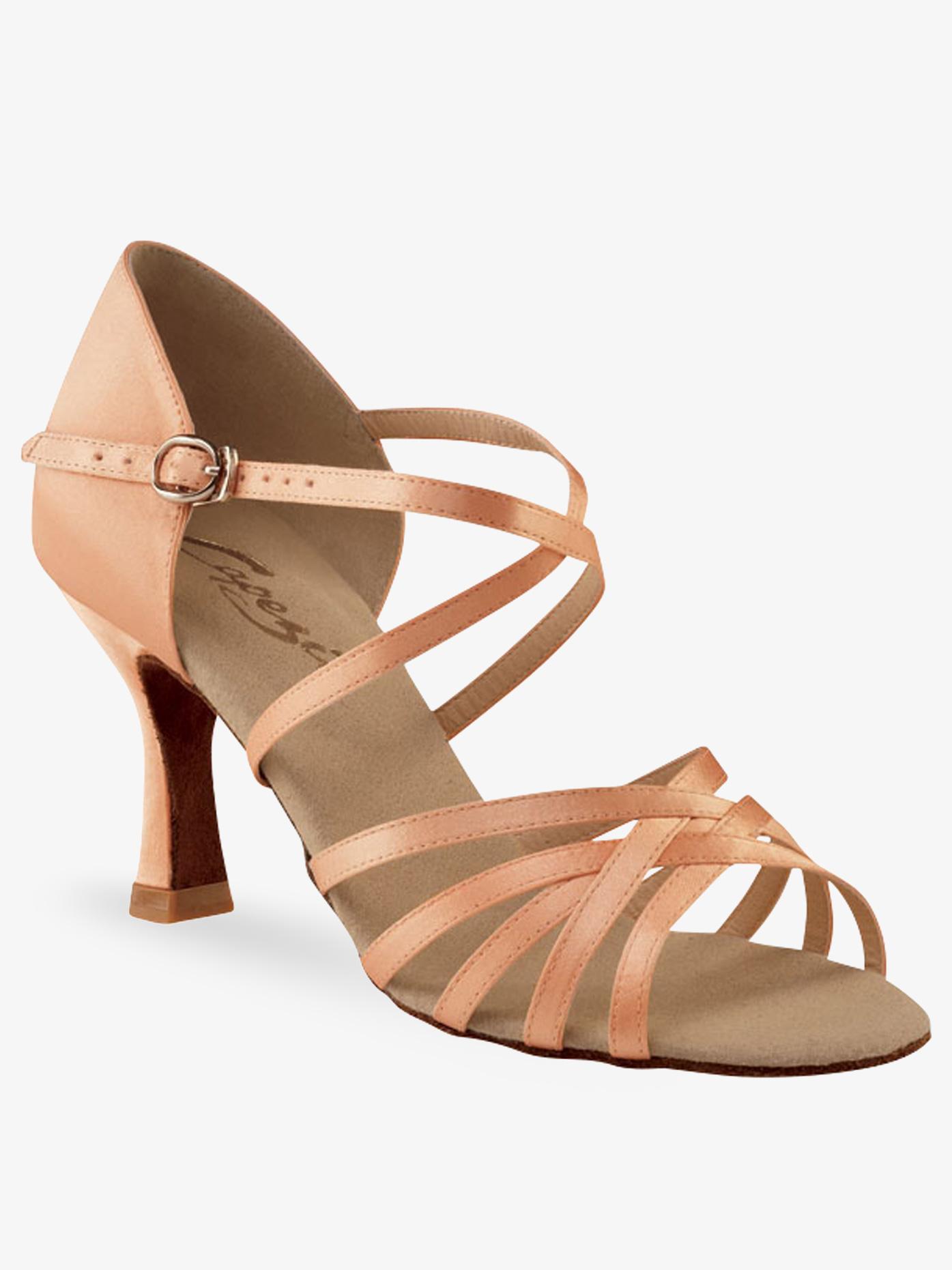 Capezio Ladies Rosa 2.5 Latin/Rhythm Ballroom Shoe SD02S