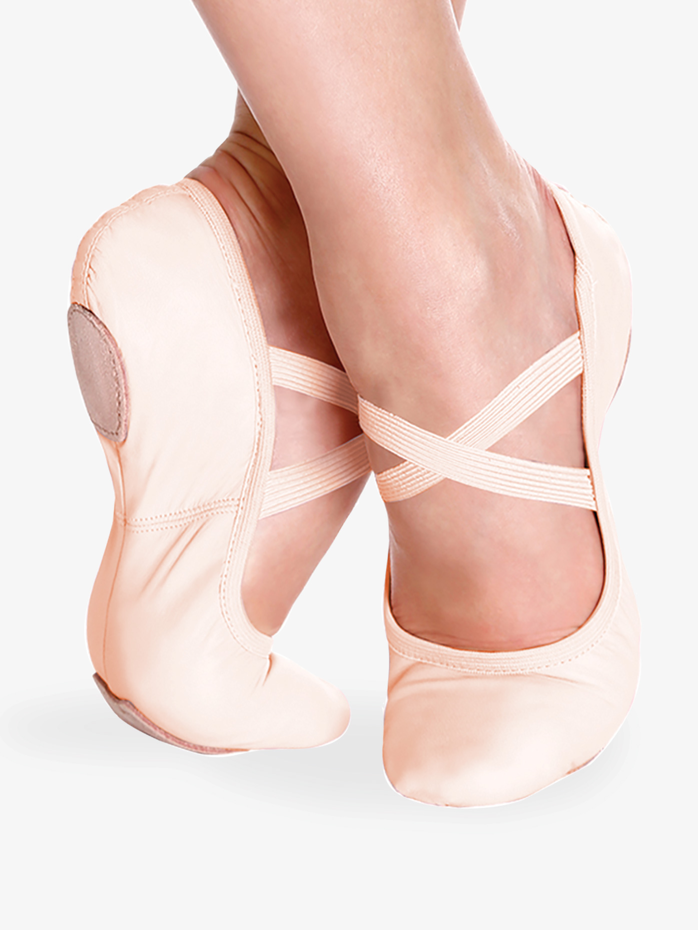 So Danca Girls Brit Split Sole Ballet Shoes SD60S