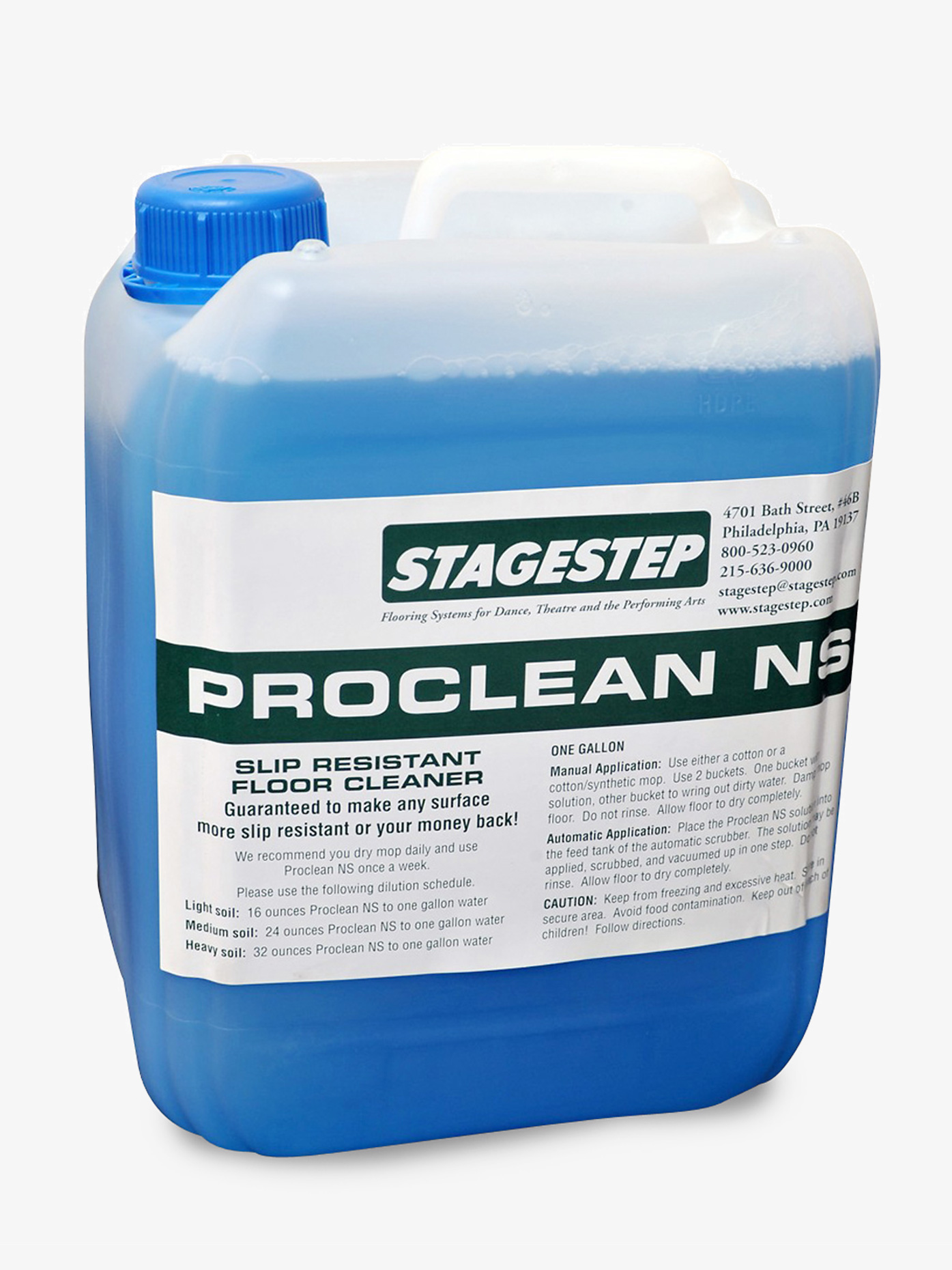 Stagestep Proclean NS 1.32 Gallon SS118