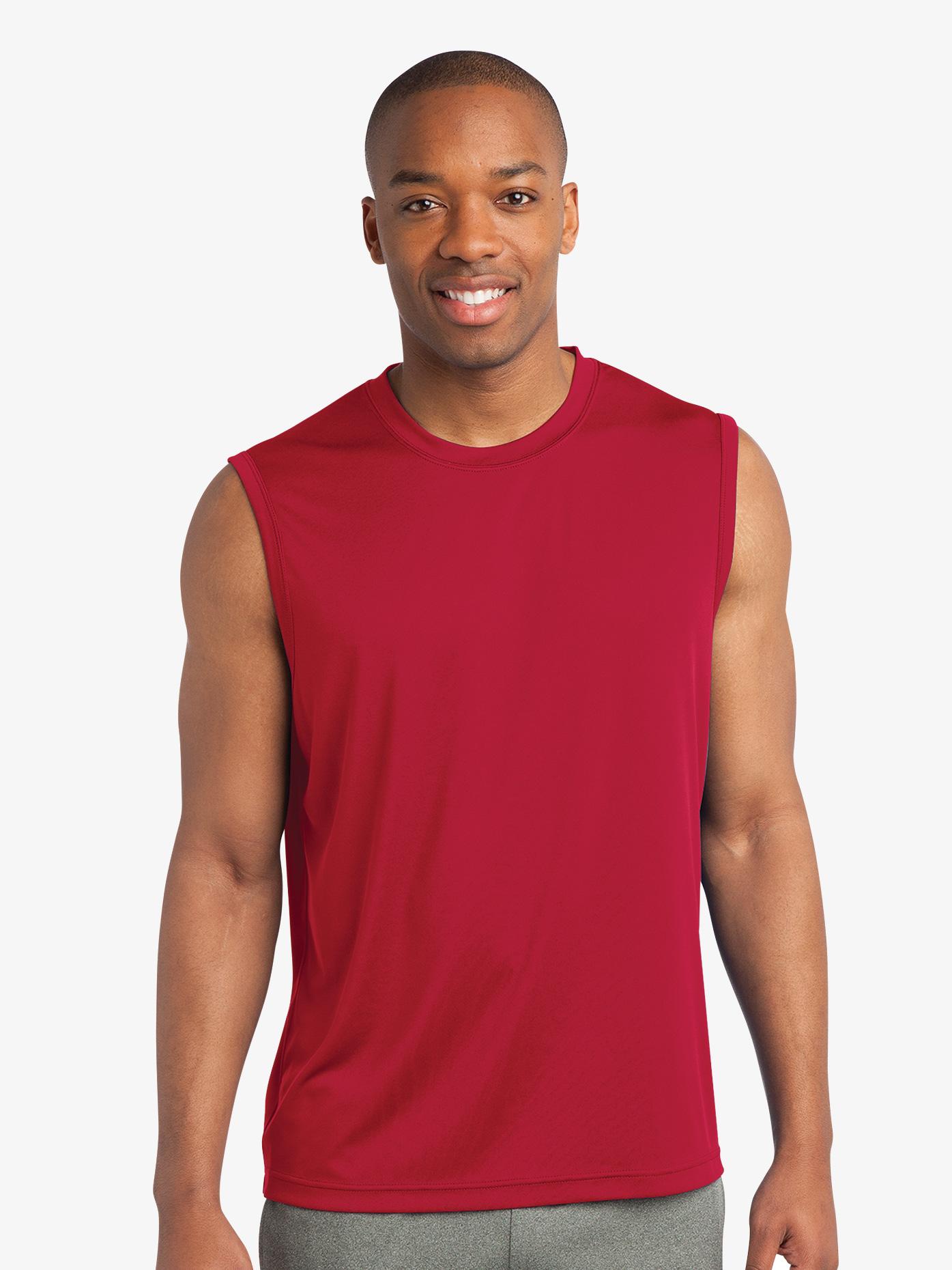 B-YOU Mens Sleeveless T-Shirt ST352